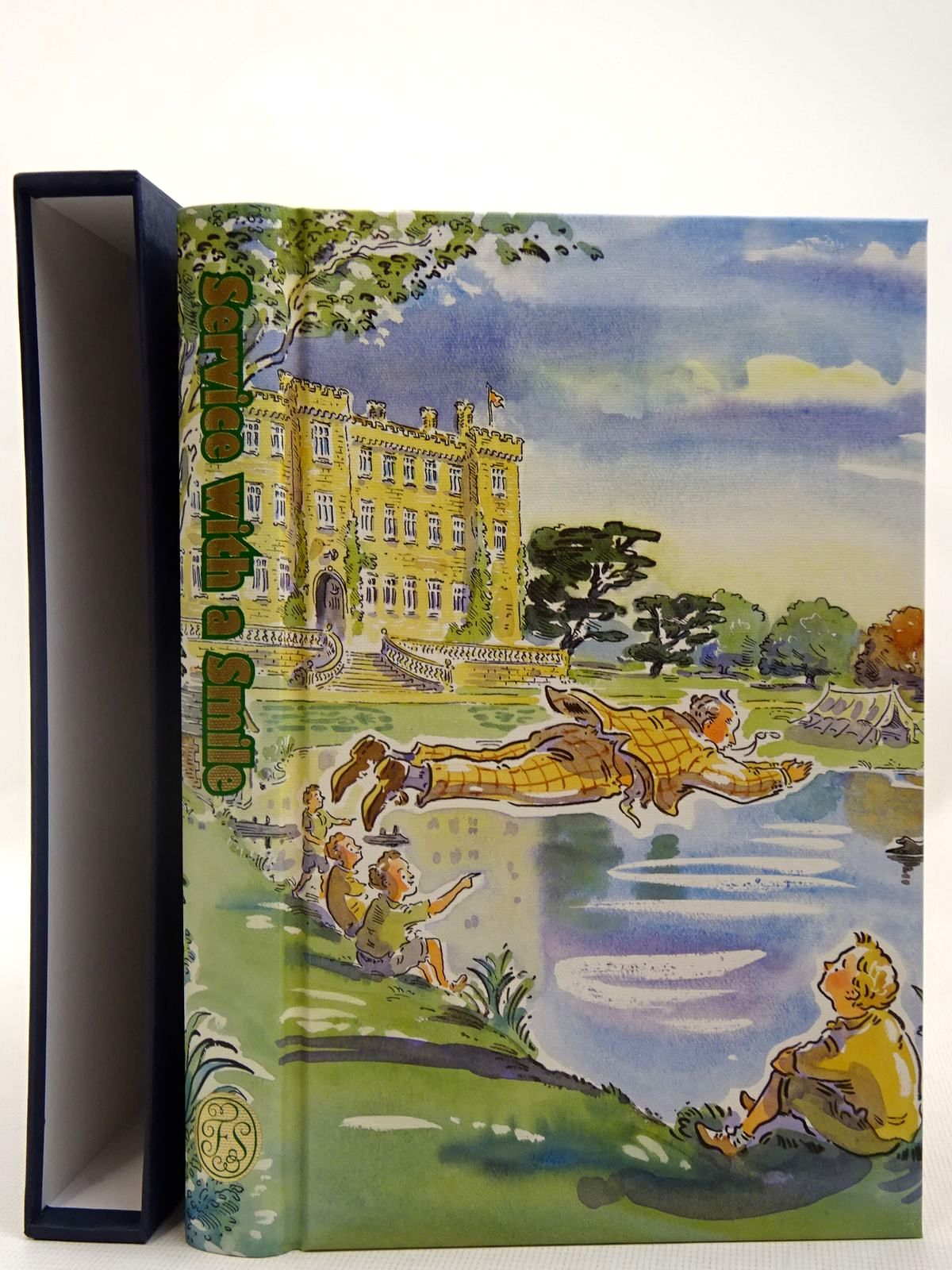 Photo of SERVICE WITH A SMILE written by Wodehouse, P.G. illustrated by Cox, Paul published by Folio Society (STOCK CODE: 2127885)  for sale by Stella & Rose's Books