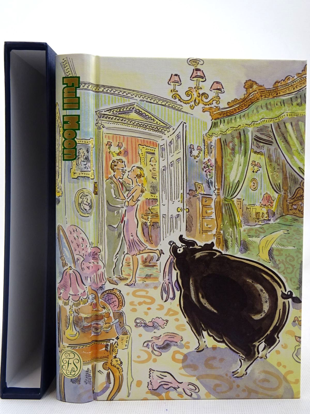Photo of FULL MOON written by Wodehouse, P.G. illustrated by Cox, Paul published by Folio Society (STOCK CODE: 2127886)  for sale by Stella & Rose's Books
