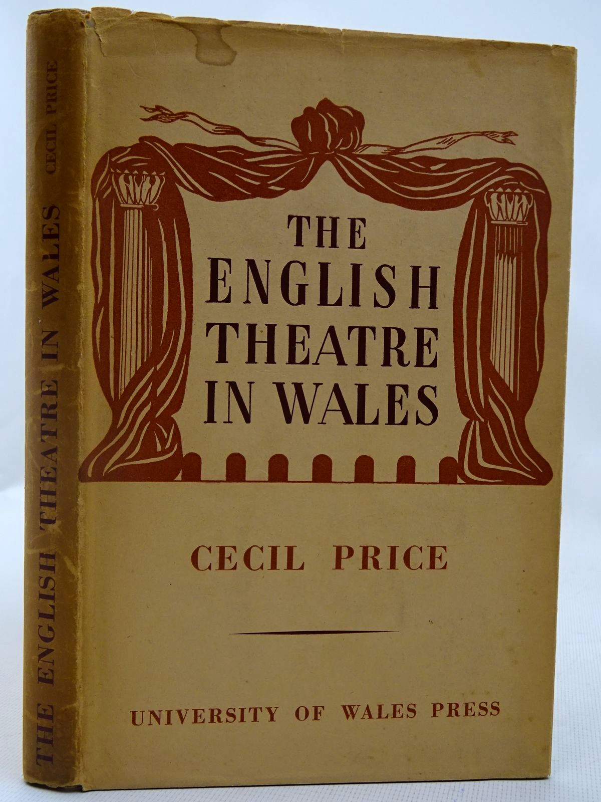 Photo of THE ENGLISH THEATRE IN WALES IN THE EIGHTEENTH AND EARLY NINETEENTH CENTURIES- Stock Number: 2127915