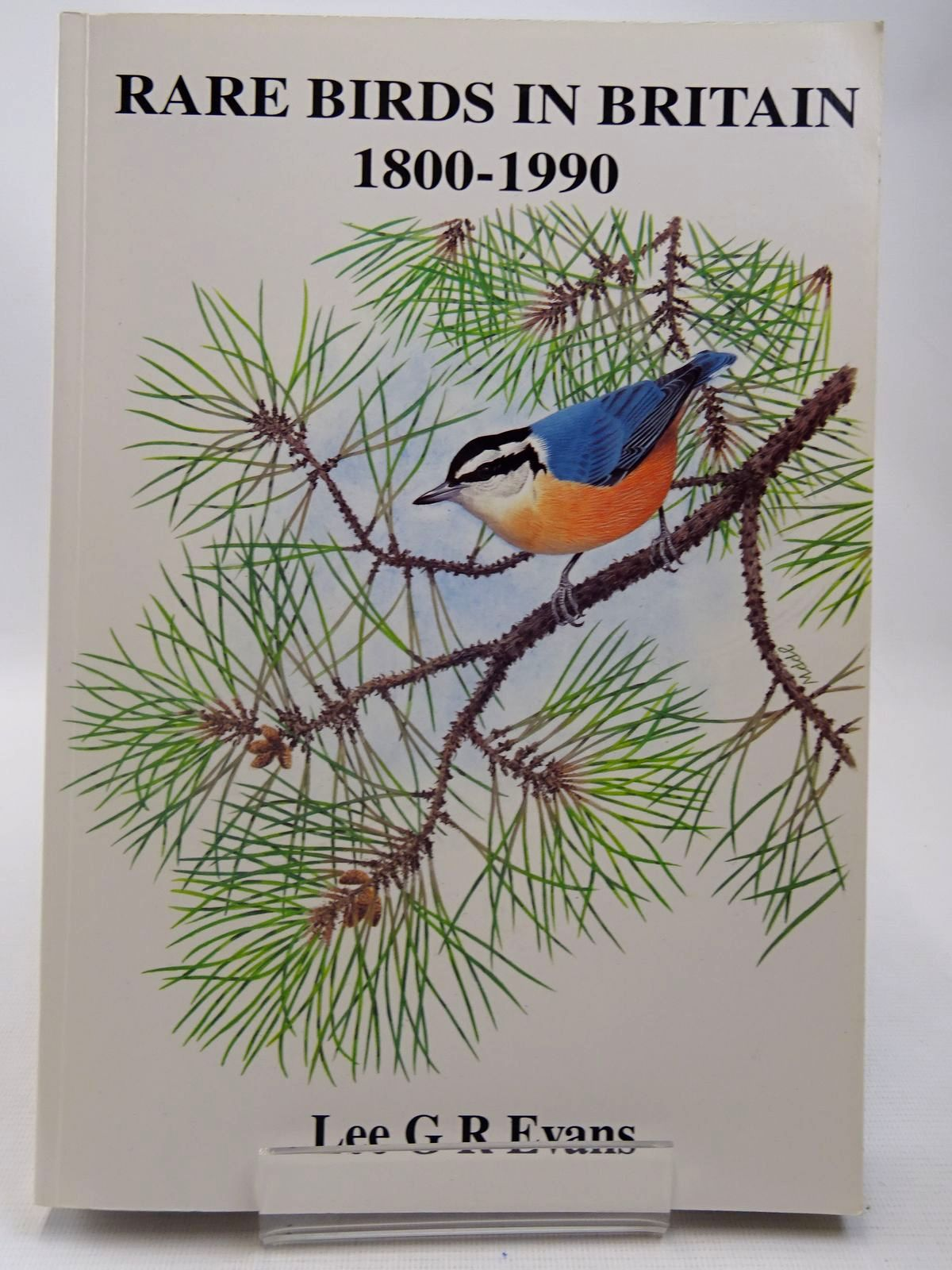 Photo of RARE BIRDS IN BRITAIN 1800-1990 written by Evans, Lee G.R. published by Lgre Publications Ltd (STOCK CODE: 2127941)  for sale by Stella & Rose's Books
