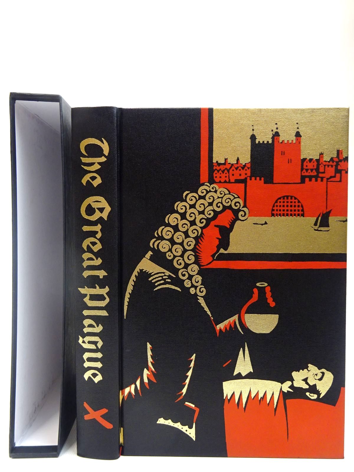 Photo of THE GREAT PLAGUE IN LONDON written by Bell, Walter George illustrated by Hollyer, Belinda published by Folio Society (STOCK CODE: 2128007)  for sale by Stella & Rose's Books
