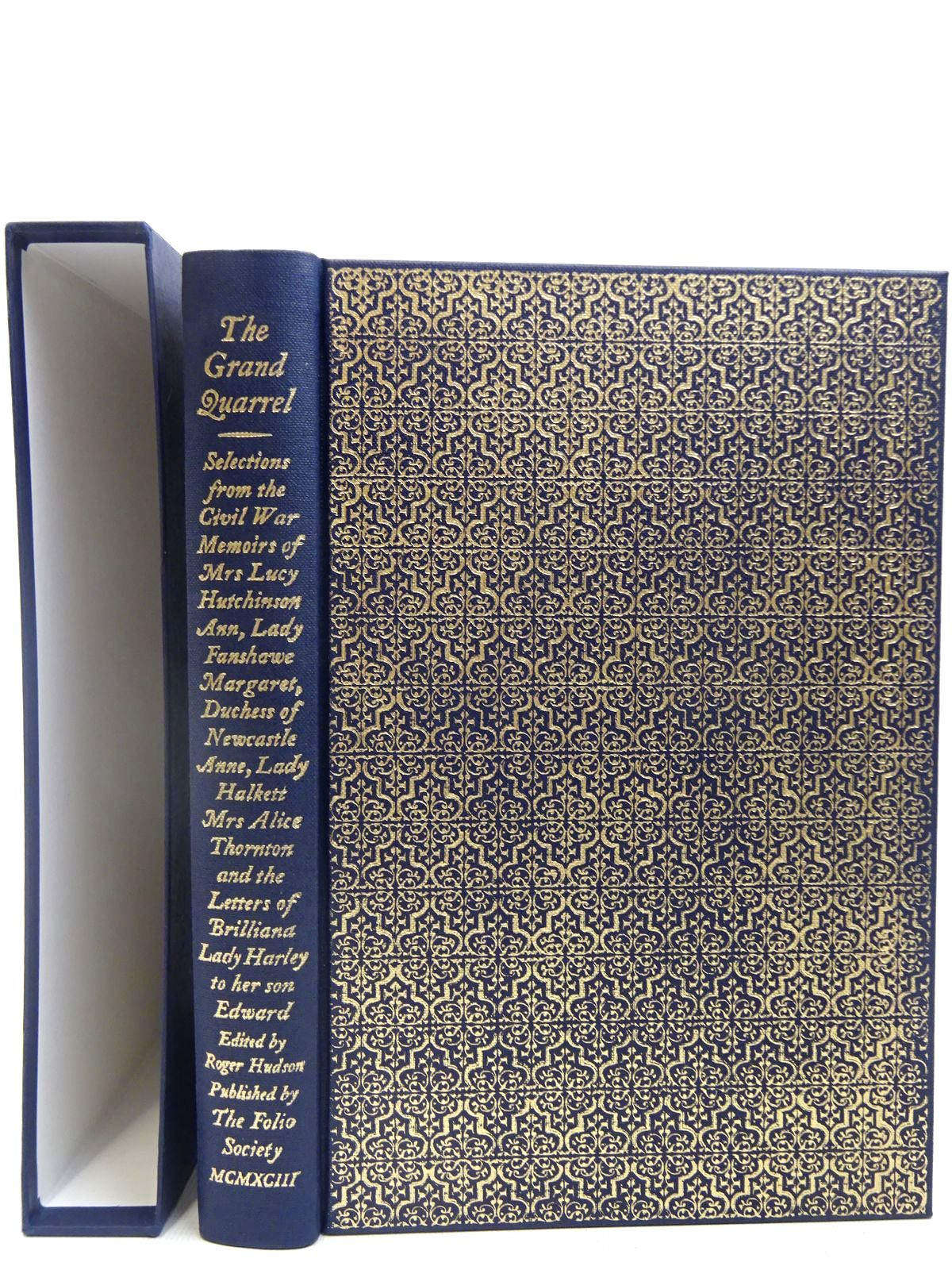 Photo of THE GRAND QUARREL written by Hutchinson, Lucy