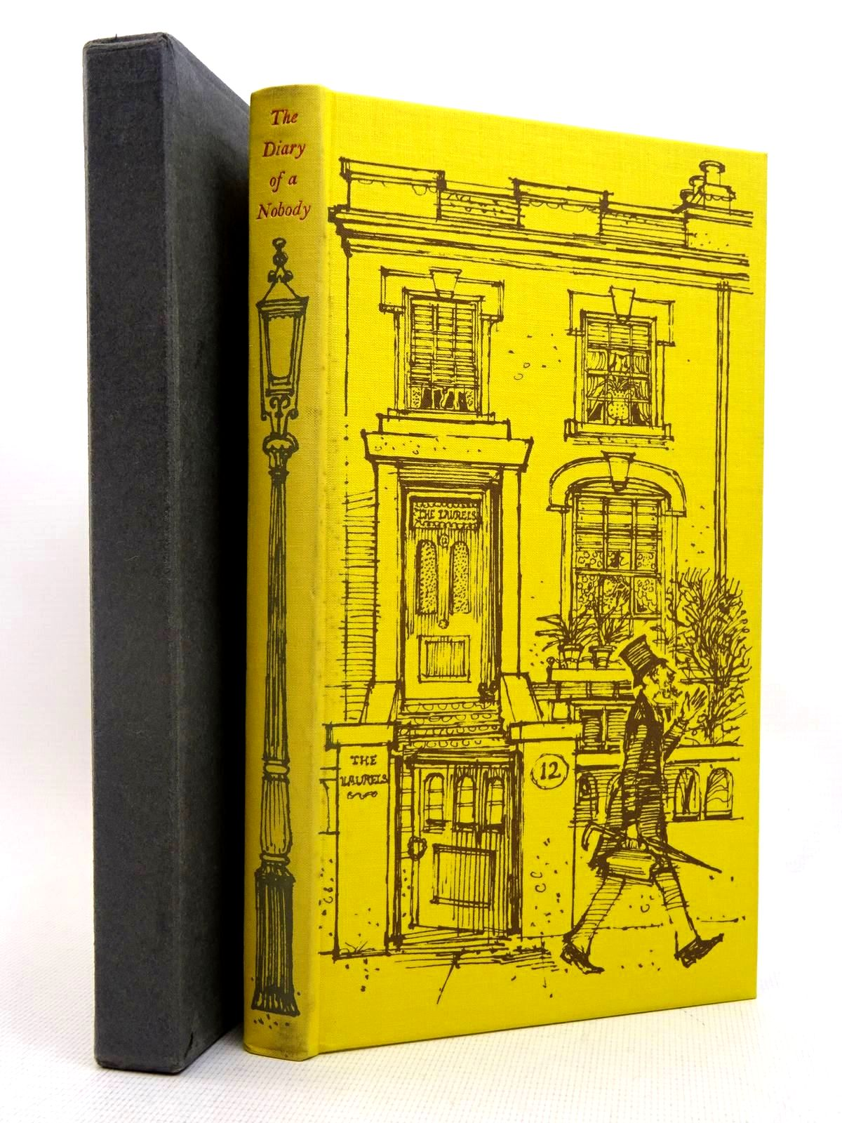 Photo of THE DIARY OF A NOBODY written by Grossmith, George Grossmith, Weedon illustrated by Lawrence, John published by Folio Society (STOCK CODE: 2128023)  for sale by Stella & Rose's Books