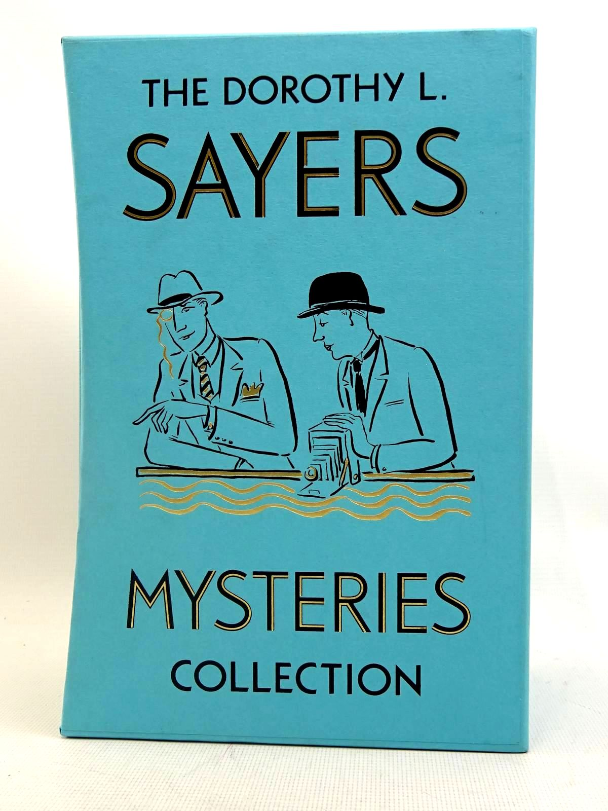 Photo of THE DOROTHY L. SAYERS MYSTERIES COLLECTION (4 VOLUMES) written by Sayers, Dorothy L. illustrated by Ledwidge, Natacha published by Folio Society (STOCK CODE: 2128040)  for sale by Stella & Rose's Books