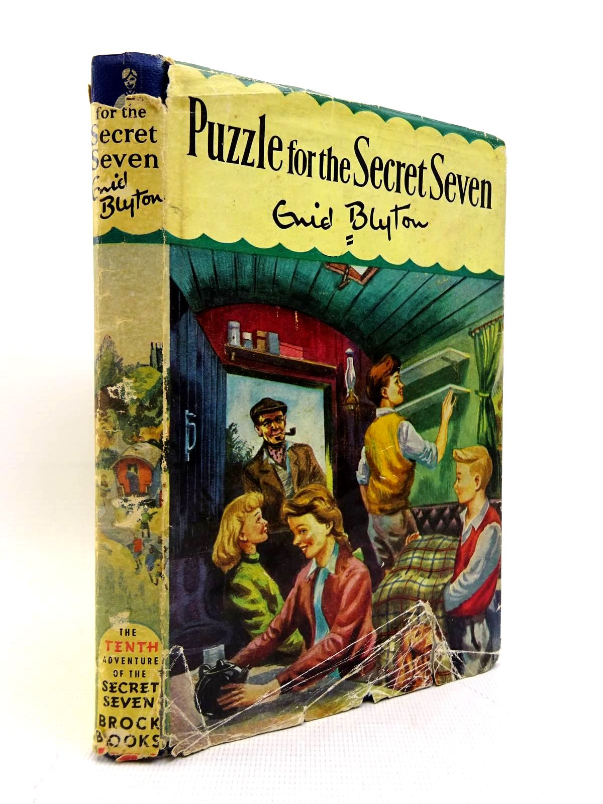 Photo of PUZZLE FOR THE SECRET SEVEN written by Blyton, Enid illustrated by Sharrocks, Burgess published by Brockhampton Press (STOCK CODE: 2128048)  for sale by Stella & Rose's Books