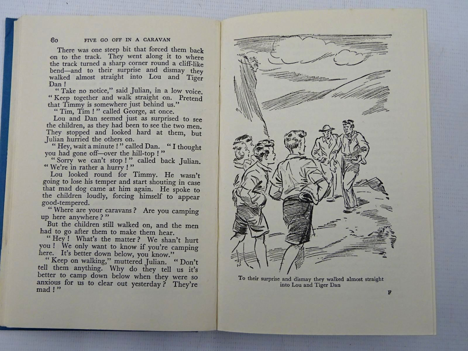 Photo of FIVE GO OFF IN A CARAVAN written by Blyton, Enid illustrated by Soper, Eileen published by Hodder & Stoughton (STOCK CODE: 2128059)  for sale by Stella & Rose's Books