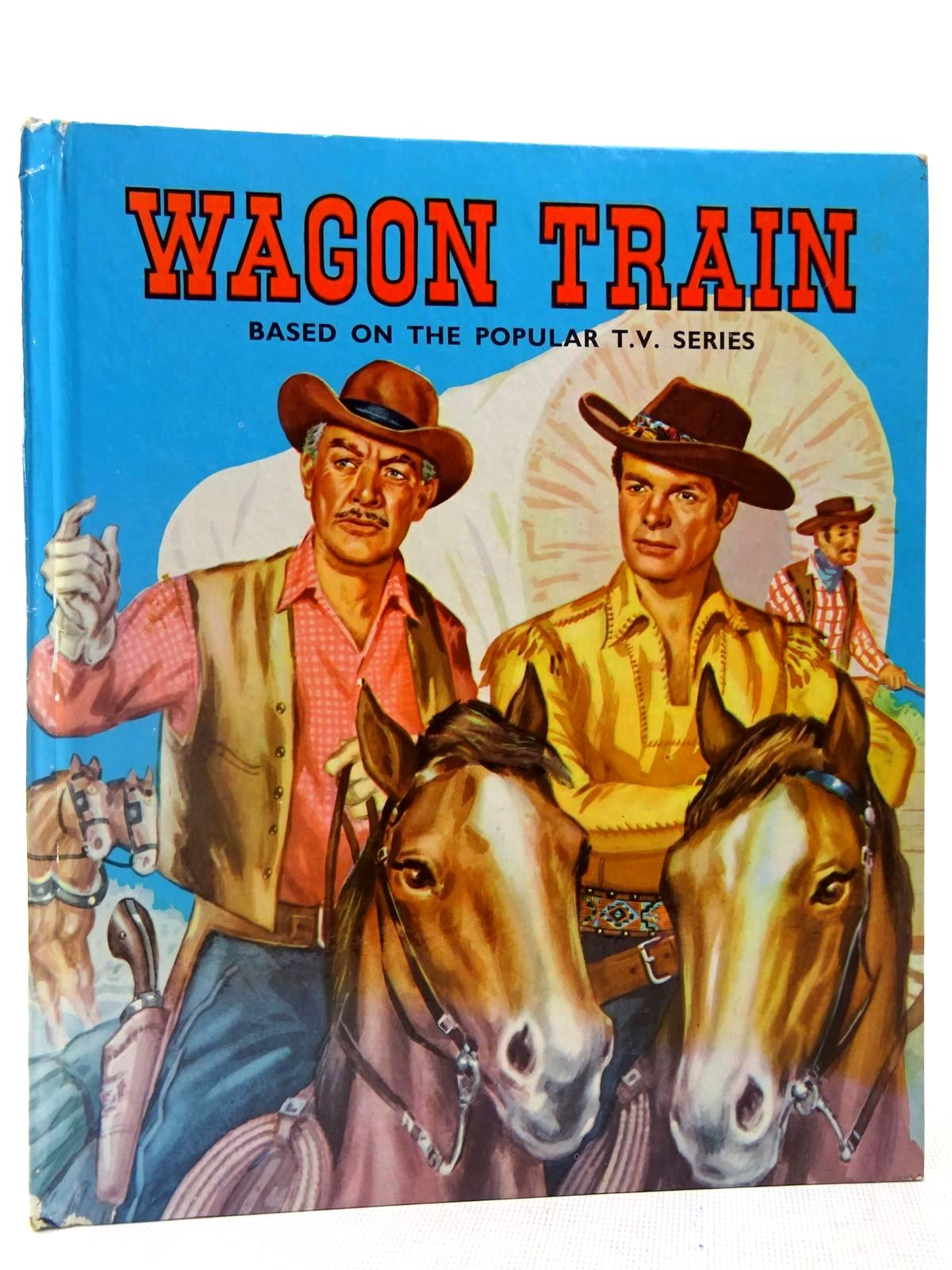 Photo of WAGON TRAIN written by Templar, Maurice illustrated by Wilson, R. published by Purnell (STOCK CODE: 2128081)  for sale by Stella & Rose's Books