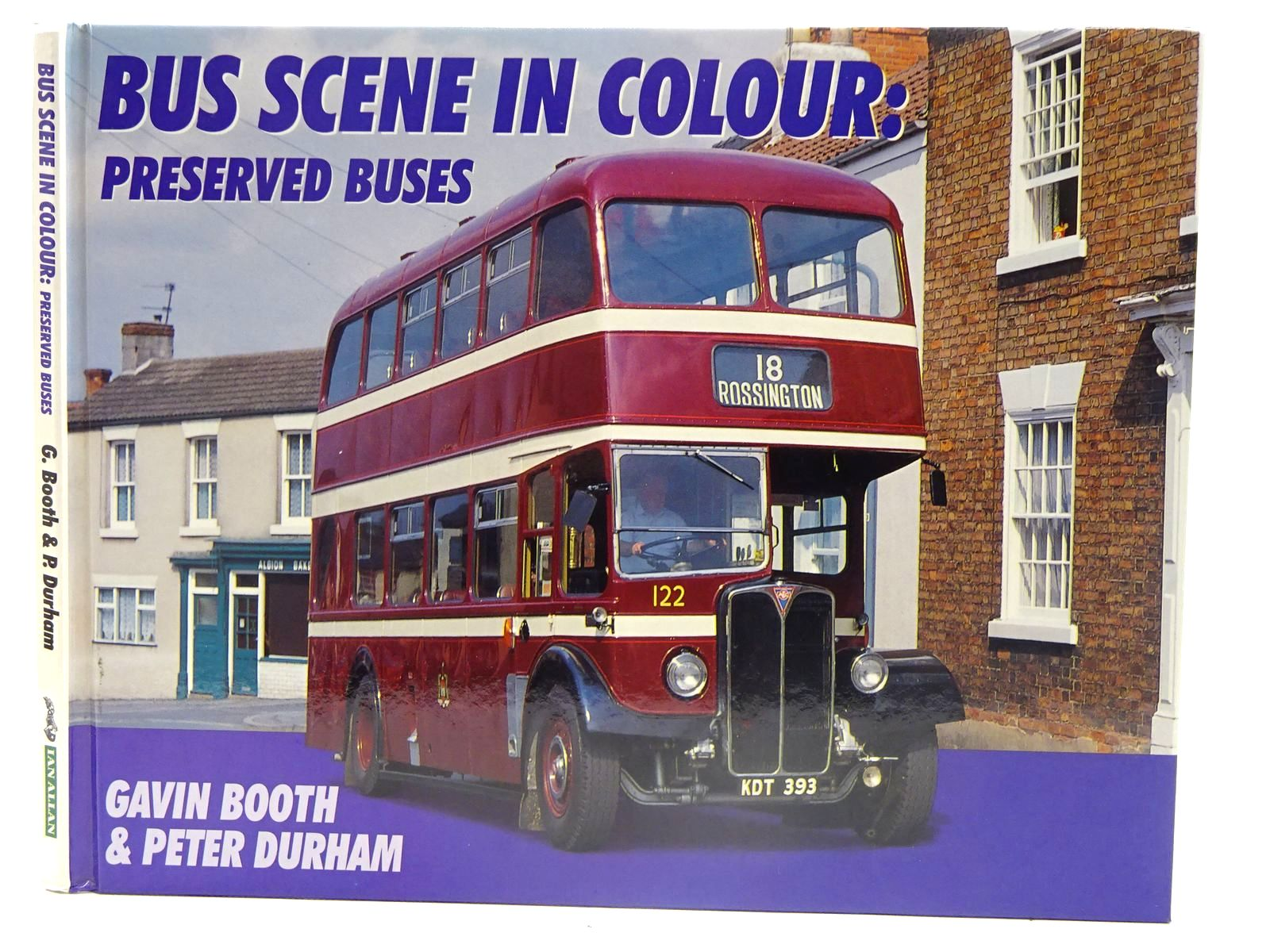 Photo of BUS SCENE IN COLOUR: PRESERVED BUSES written by Booth, Gavin Durham, Peter published by Ian Allan (STOCK CODE: 2128115)  for sale by Stella & Rose's Books
