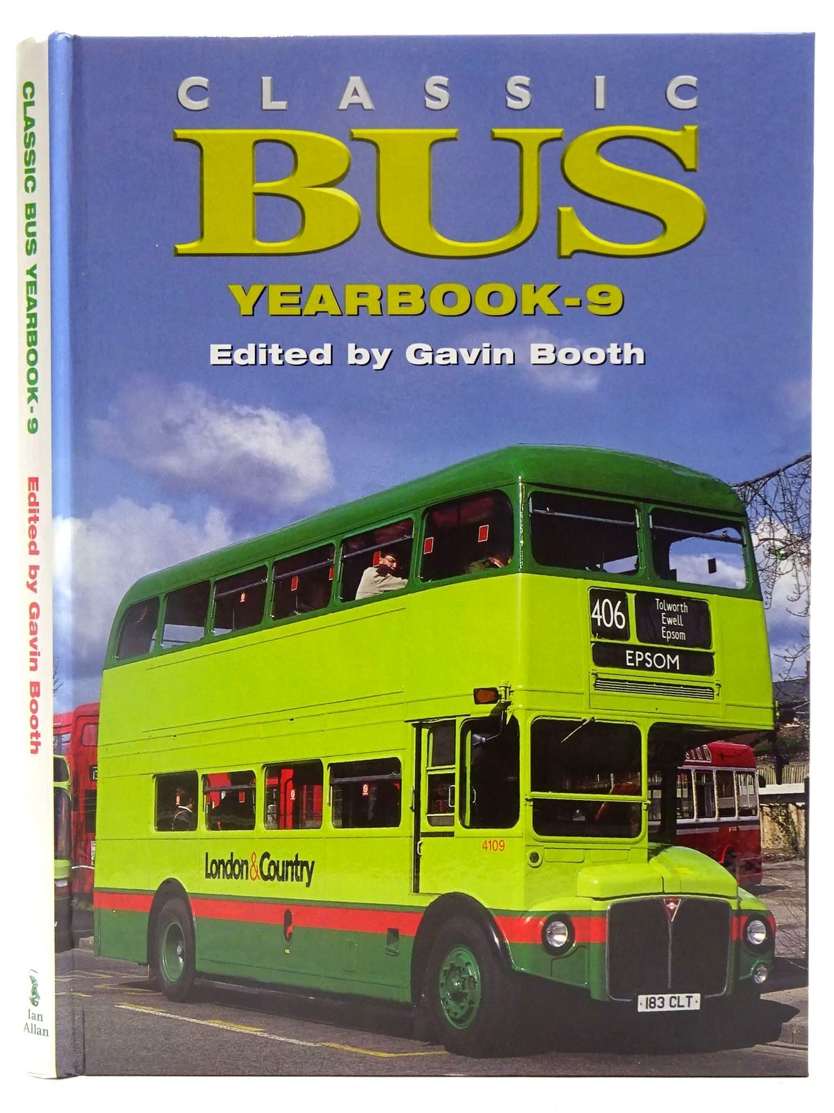 Photo of CLASSIC BUS YEARBOOK-9 written by Booth, Gavin published by Ian Allan (STOCK CODE: 2128126)  for sale by Stella & Rose's Books