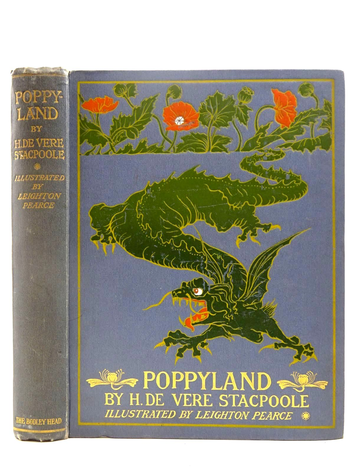 Photo of POPPYLAND written by Stacpoole, Henry De Vere illustrated by Pearce, Leighton published by John Lane The Bodley Head (STOCK CODE: 2128135)  for sale by Stella & Rose's Books