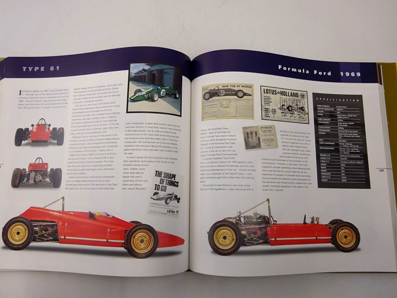 Photo of THE LOTUS BOOK THE COMPLETE HISTORY OF LOTUS CARS 50TH ANNIVERSARY SPECIAL written by Taylor, William published by Coterie Press Limited (STOCK CODE: 2128169)  for sale by Stella & Rose's Books