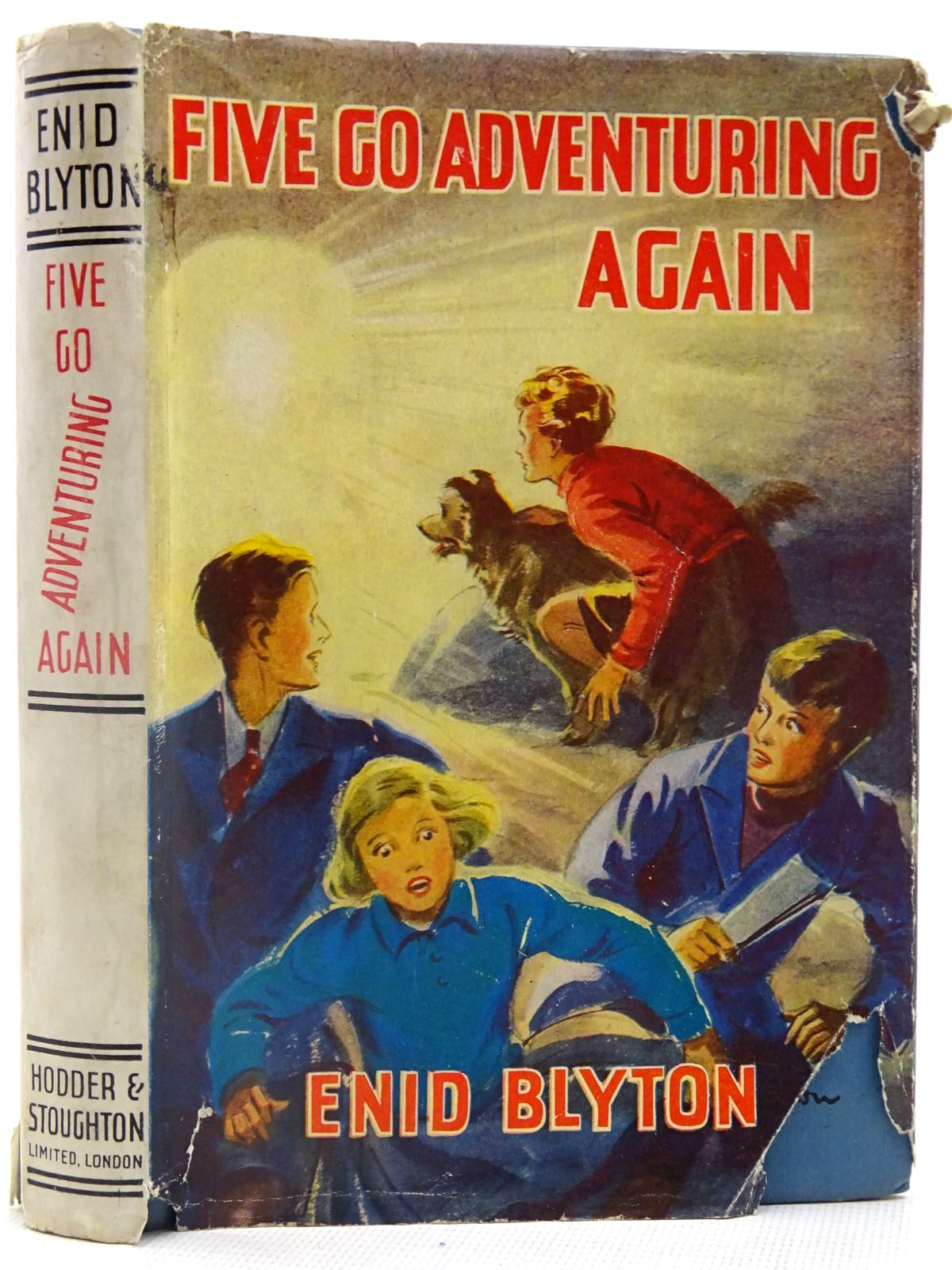 Photo of FIVE GO ADVENTURING AGAIN written by Blyton, Enid illustrated by Soper, Eileen published by Hodder & Stoughton (STOCK CODE: 2128171)  for sale by Stella & Rose's Books