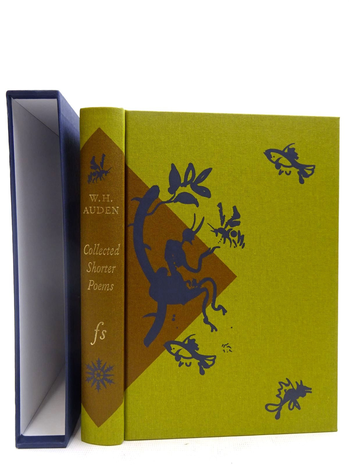 Photo of COLLECTED SHORTER POEMS 1927-1957 written by Auden, W.H. illustrated by Grimwood, Brian published by Folio Society (STOCK CODE: 2128189)  for sale by Stella & Rose's Books