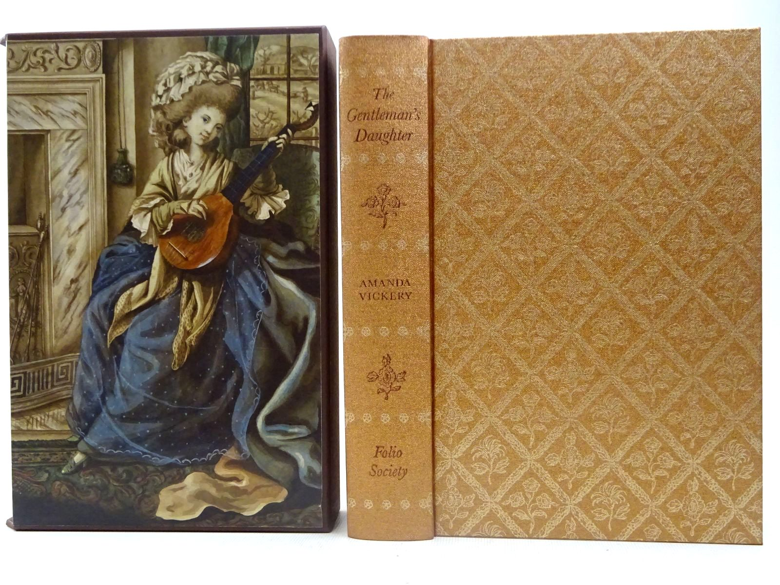 Photo of THE GENTLEMAN'S DAUGHTER written by Vickery, Amanda published by Folio Society (STOCK CODE: 2128201)  for sale by Stella & Rose's Books