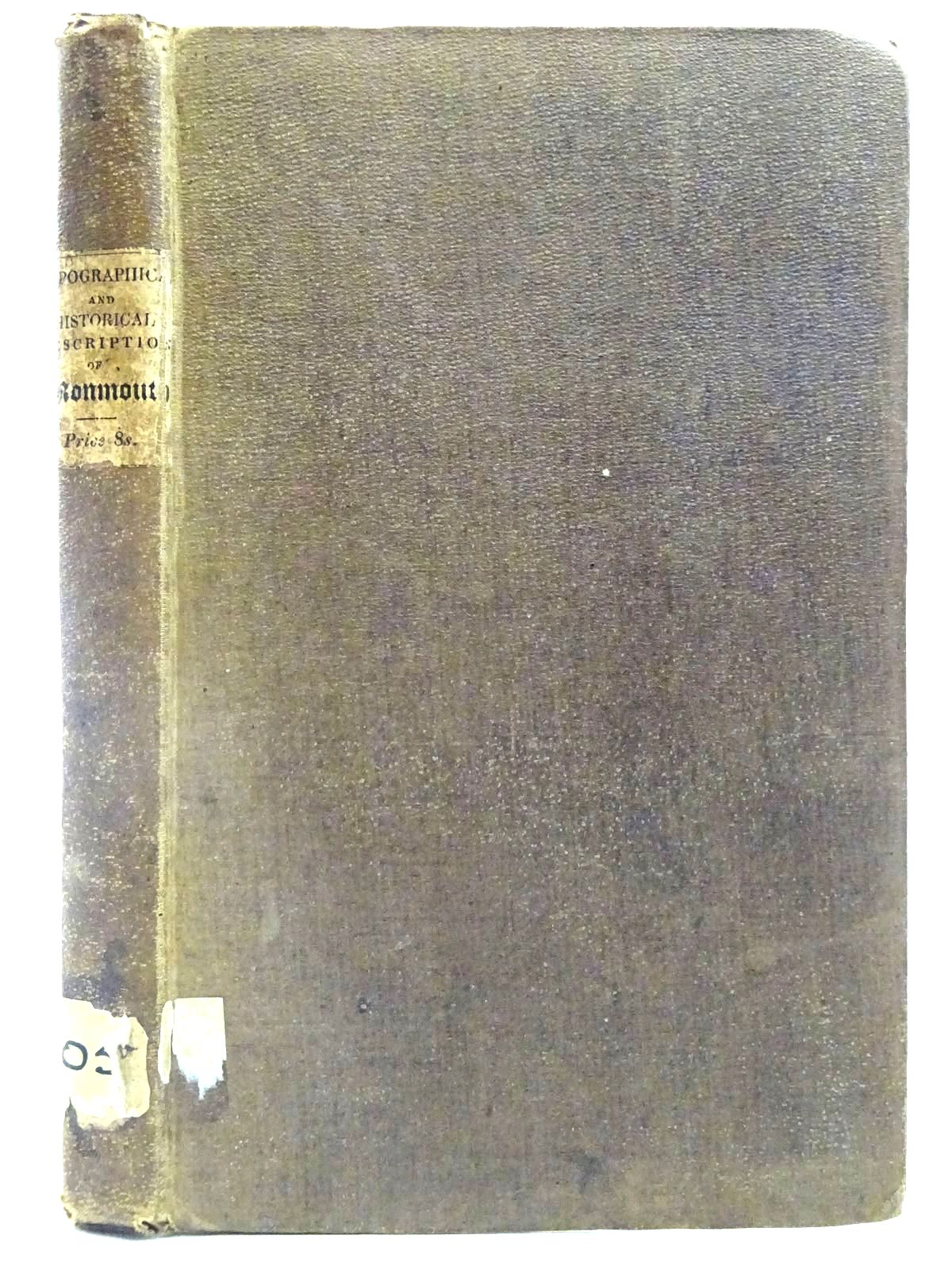 Photo of A TOPOGRAPHICAL AND HISTORICAL DESCRIPTION OF THE COUNTY OF MONMOUTH- Stock Number: 2128227