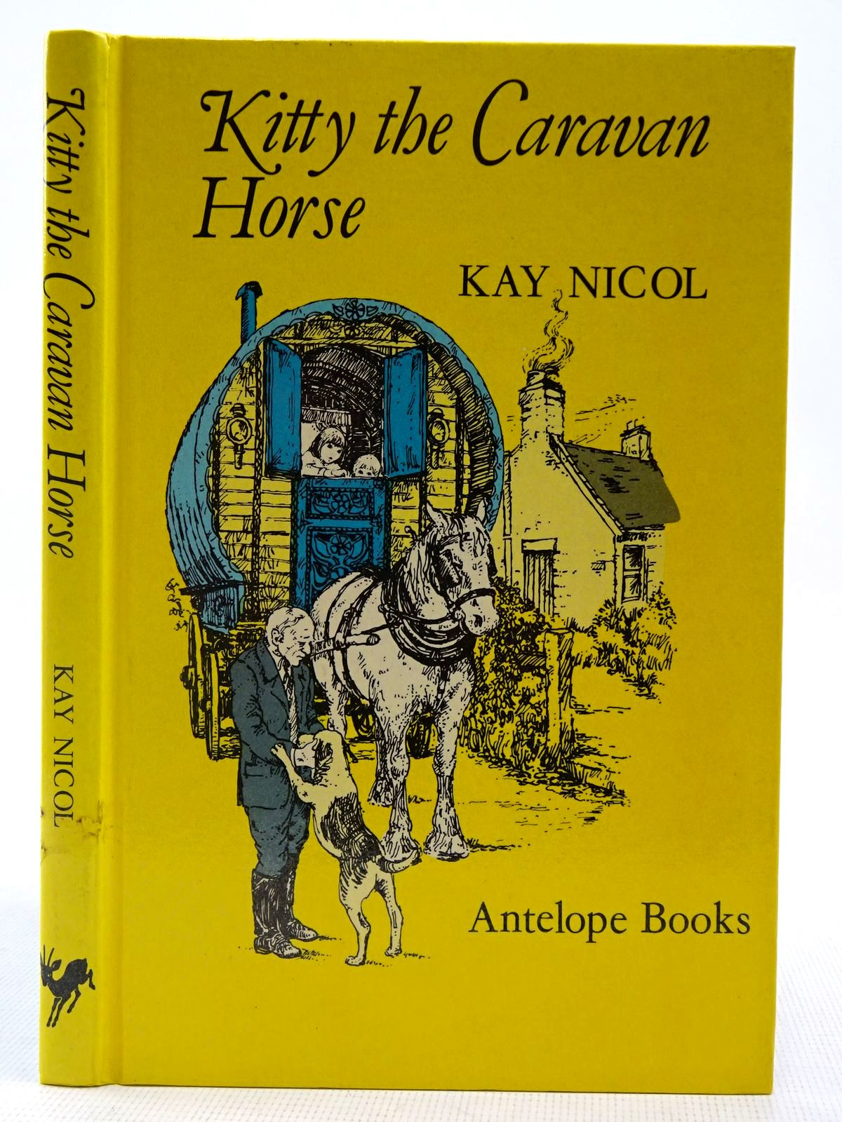 Photo of KITTY THE CARAVAN HORSE written by Nicol, Kay illustrated by Bradley, Maureen published by Hamish Hamilton Childrens Books (STOCK CODE: 2128258)  for sale by Stella & Rose's Books