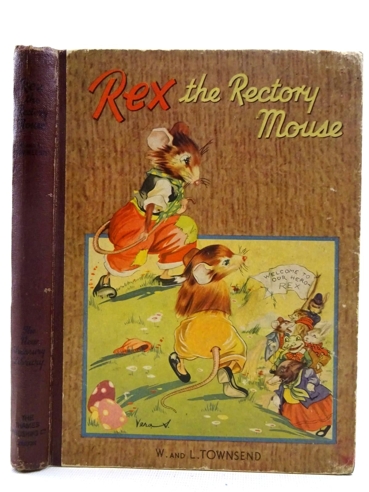 Photo of REX THE RECTORY MOUSE- Stock Number: 2128340