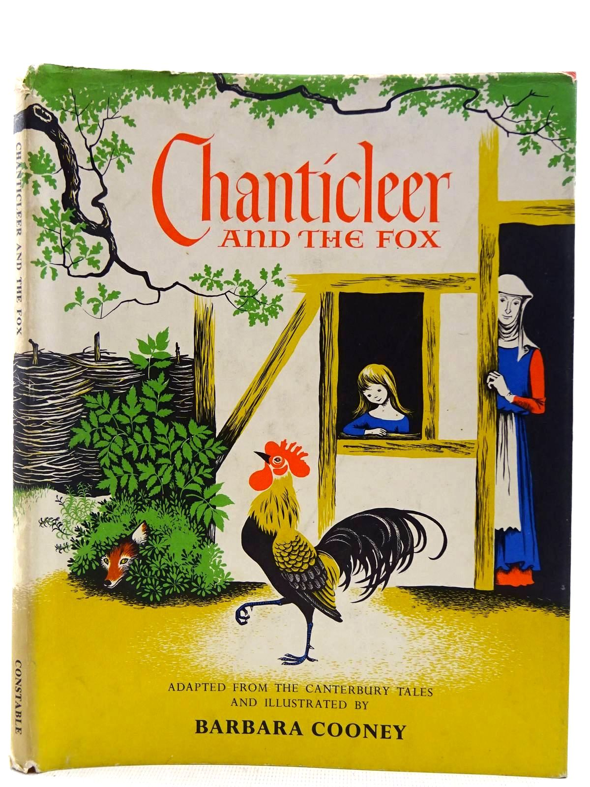 Photo of CHANTICLEER AND THE FOX written by Chaucer, Geoffrey Cooney, Barbara illustrated by Cooney, Barbara published by Kestrel Books (STOCK CODE: 2128349)  for sale by Stella & Rose's Books