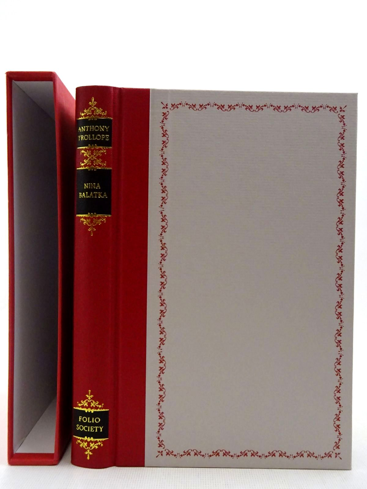 Photo of NINA BALATKA written by Trollope, Anthony Thirlwell, Angela illustrated by Waters, Rod published by Folio Society (STOCK CODE: 2128364)  for sale by Stella & Rose's Books