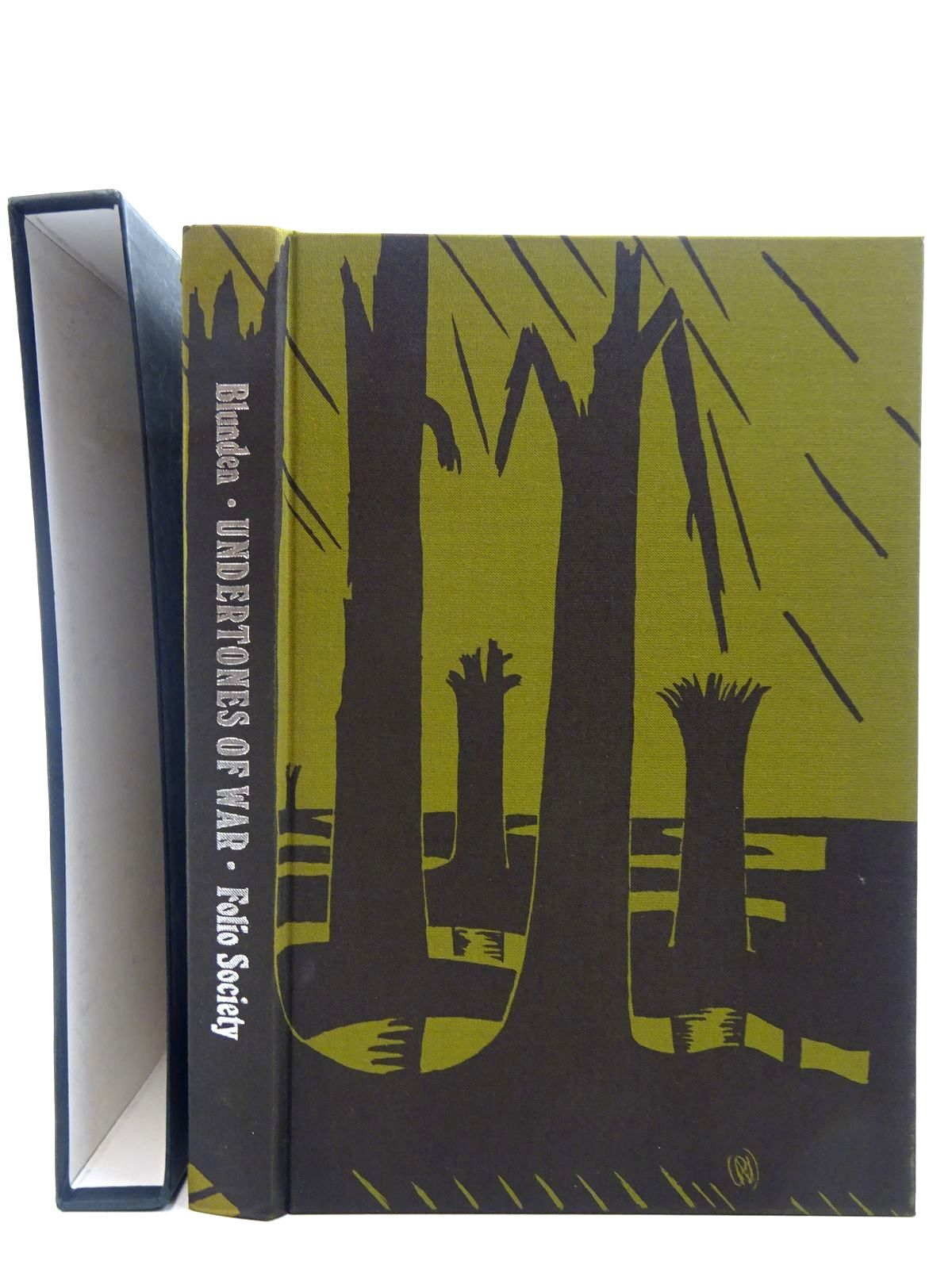 Photo of UNDERTONES OF WAR written by Blunden, Edmund illustrated by Nash, Paul et al.,  published by Folio Society (STOCK CODE: 2128367)  for sale by Stella & Rose's Books