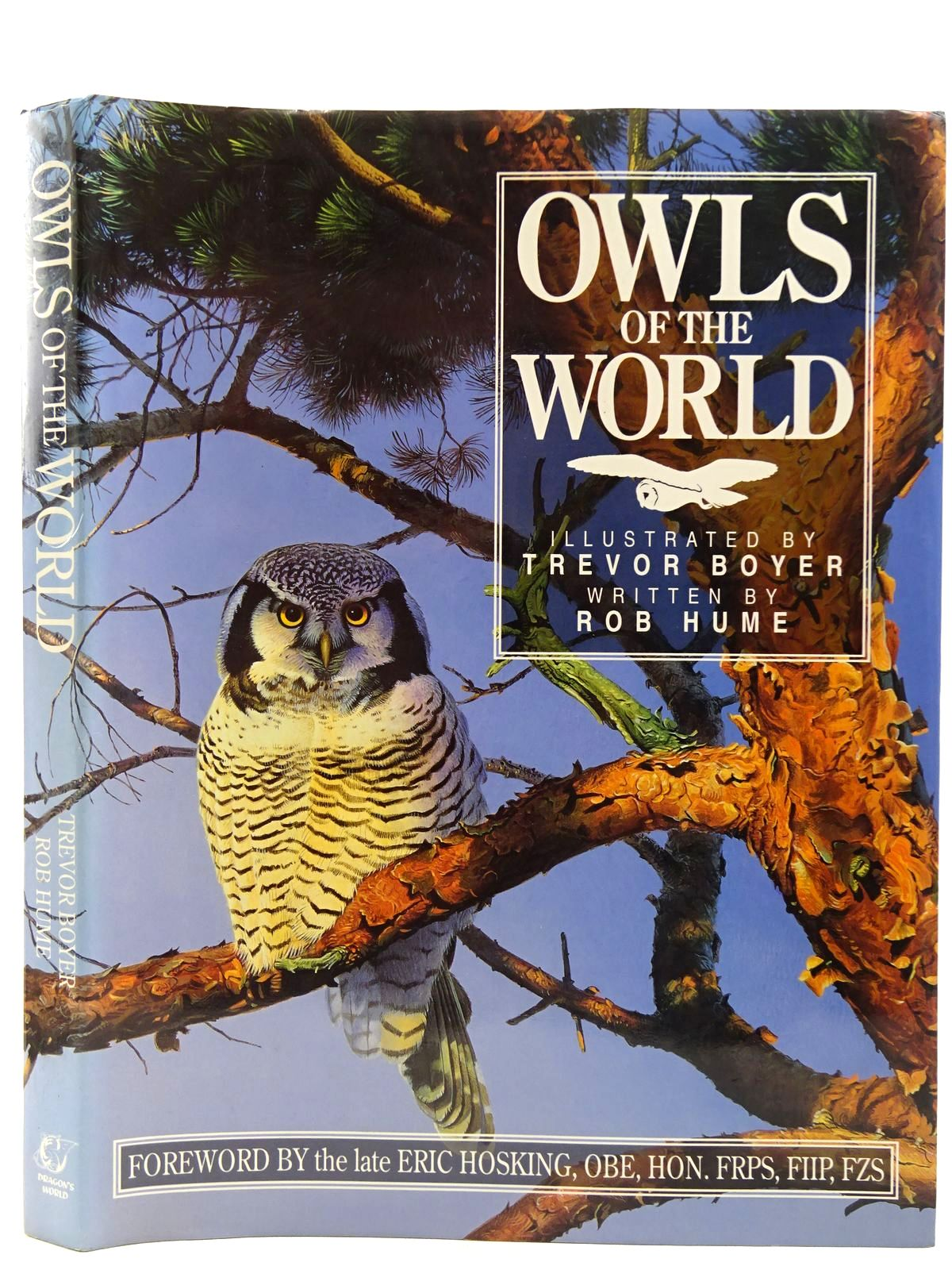 Photo of OWLS OF THE WORLD written by Hume, Rob illustrated by Boyer, Trevor published by Dragon's World (STOCK CODE: 2128394)  for sale by Stella & Rose's Books