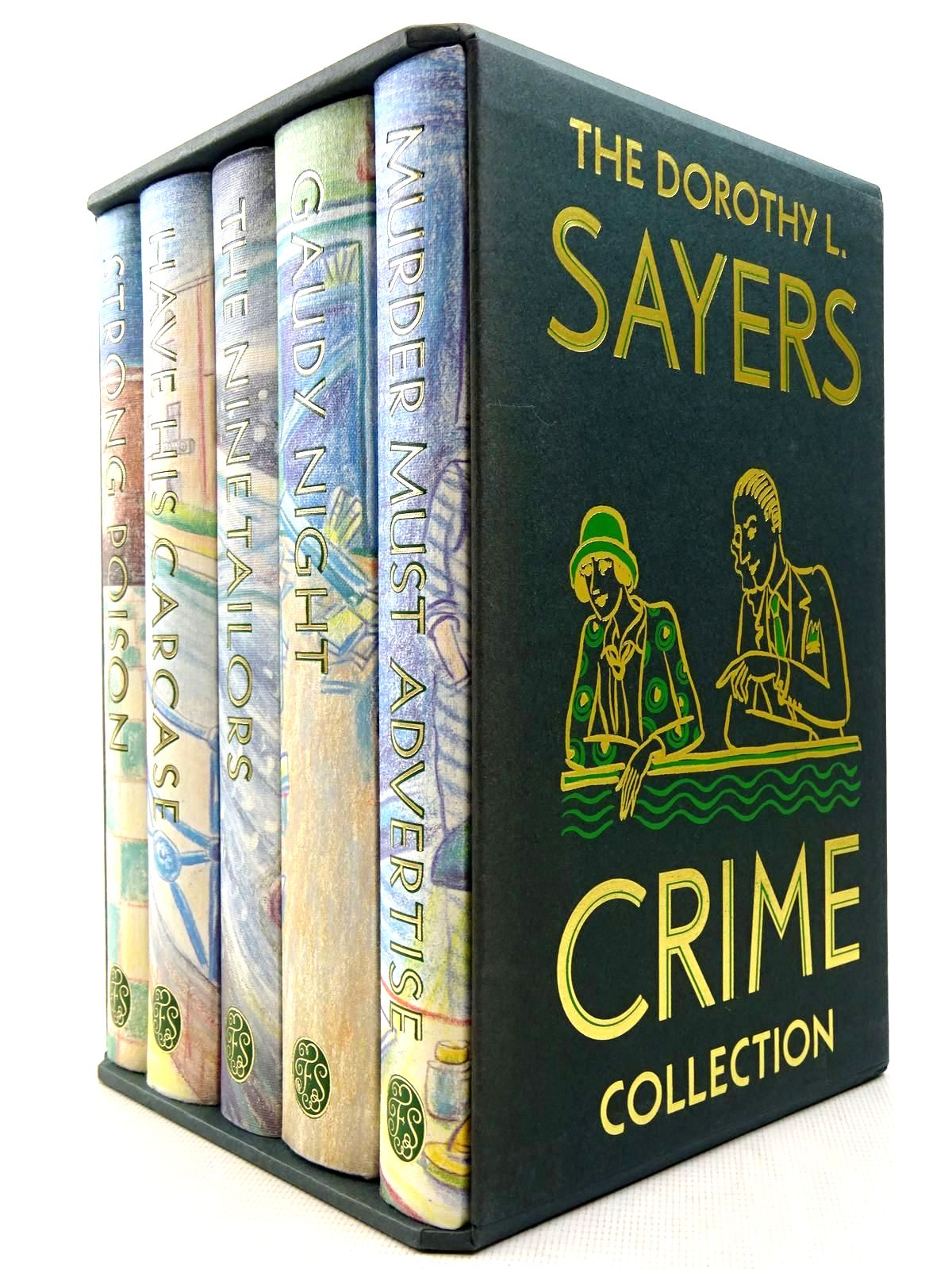 Photo of THE DOROTHY L. SAYERS CRIME COLLECTION (5 VOLUMES) written by Sayers, Dorothy L. illustrated by Ledwidge, Natacha published by Folio Society (STOCK CODE: 2128424)  for sale by Stella & Rose's Books