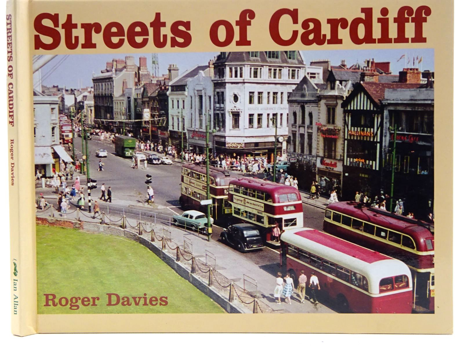 Photo of STREETS OF CARDIFF written by Davies, Roger published by Ian Allan (STOCK CODE: 2128428)  for sale by Stella & Rose's Books