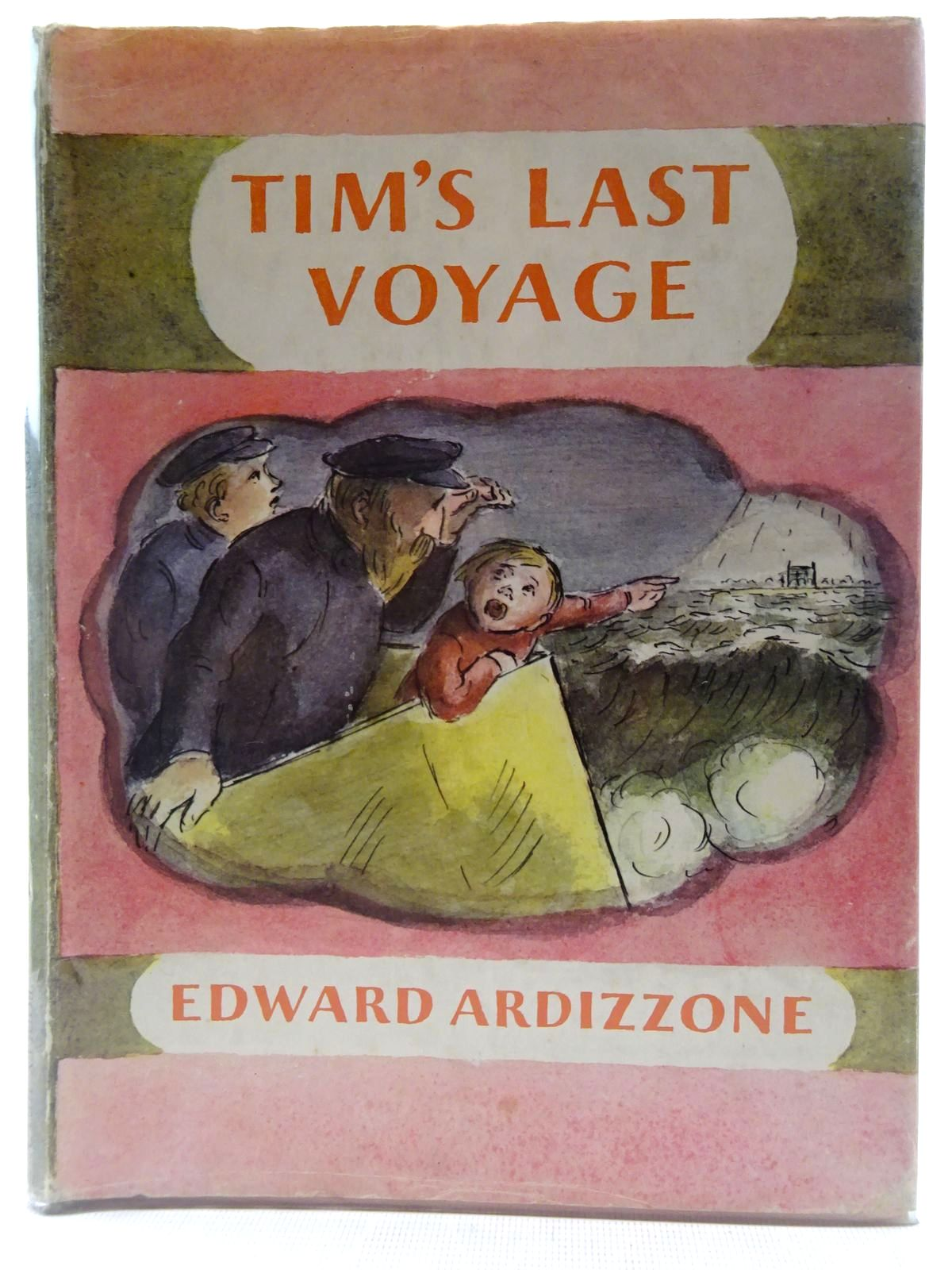 Photo of TIM'S LAST VOYAGE written by Ardizzone, Edward illustrated by Ardizzone, Edward published by The Bodley Head (STOCK CODE: 2128454)  for sale by Stella & Rose's Books