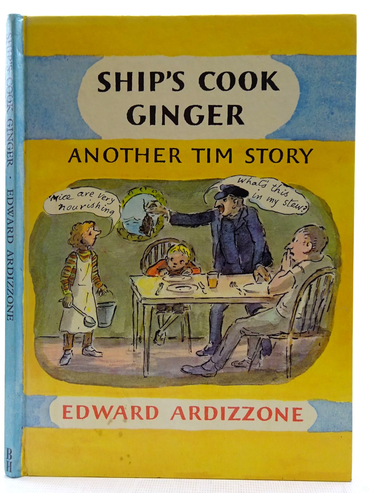 Photo of SHIP'S COOK GINGER written by Ardizzone, Edward illustrated by Ardizzone, Edward published by The Bodley Head (STOCK CODE: 2128455)  for sale by Stella & Rose's Books