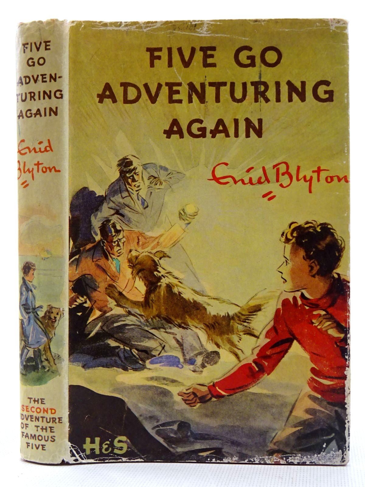 Photo of FIVE GO ADVENTURING AGAIN written by Blyton, Enid illustrated by Soper, Eileen published by Hodder & Stoughton (STOCK CODE: 2128487)  for sale by Stella & Rose's Books