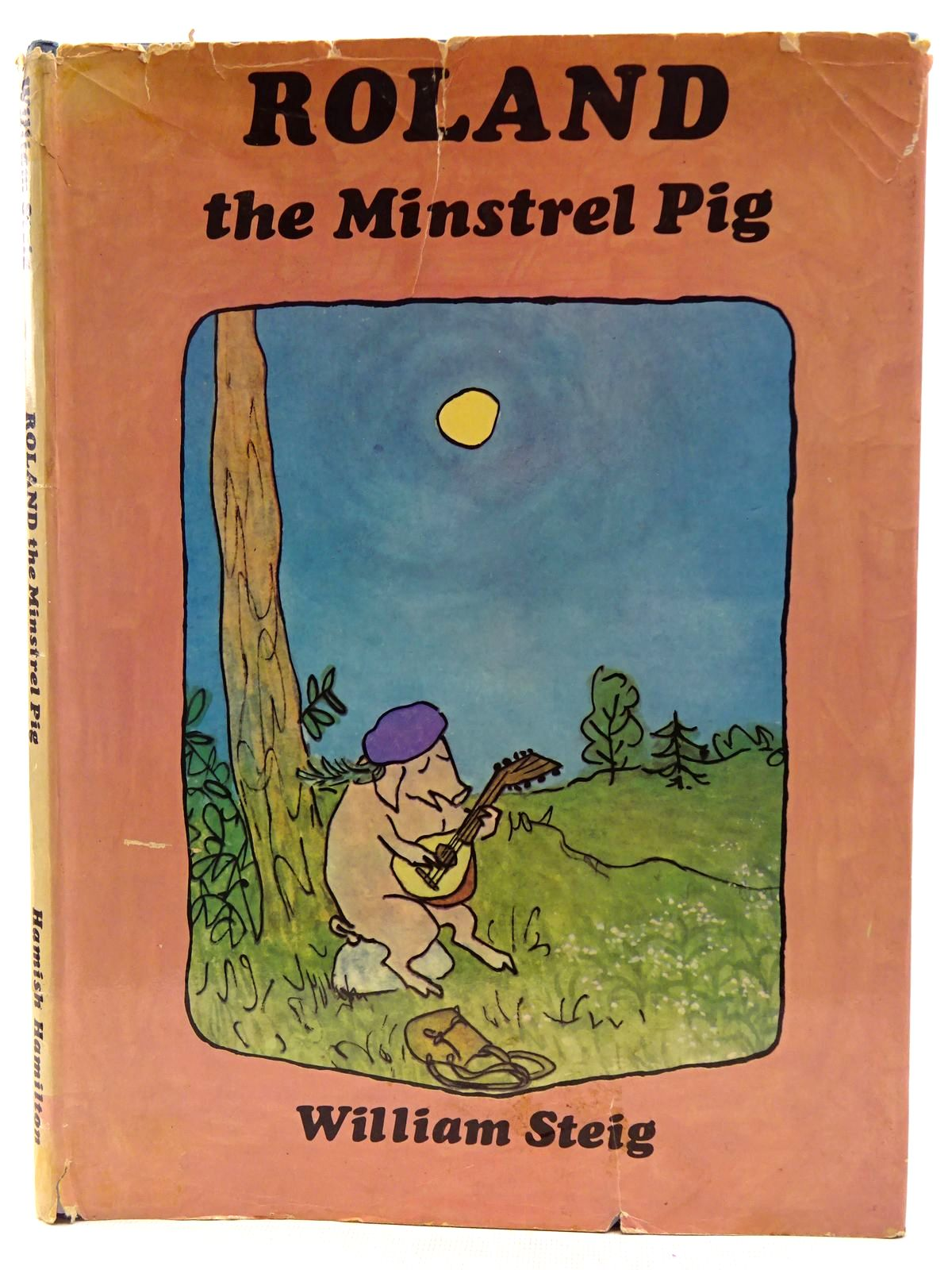 Photo of ROLAND THE MINSTREL PIG written by Steig, William illustrated by Steig, William published by Hamish Hamilton Childrens Books (STOCK CODE: 2128508)  for sale by Stella & Rose's Books