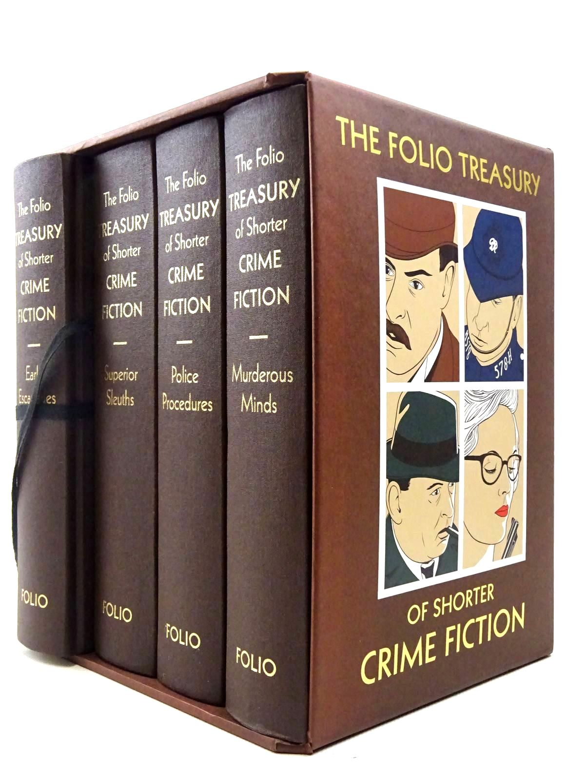 Photo of THE FOLIO TREASURY OF SHORTER CRIME FICTION written by Heald, Tim<br />Bradbury, Sue illustrated by Hardcastle, Nick published by Folio Society (STOCK CODE: 2128579)  for sale by Stella & Rose's Books