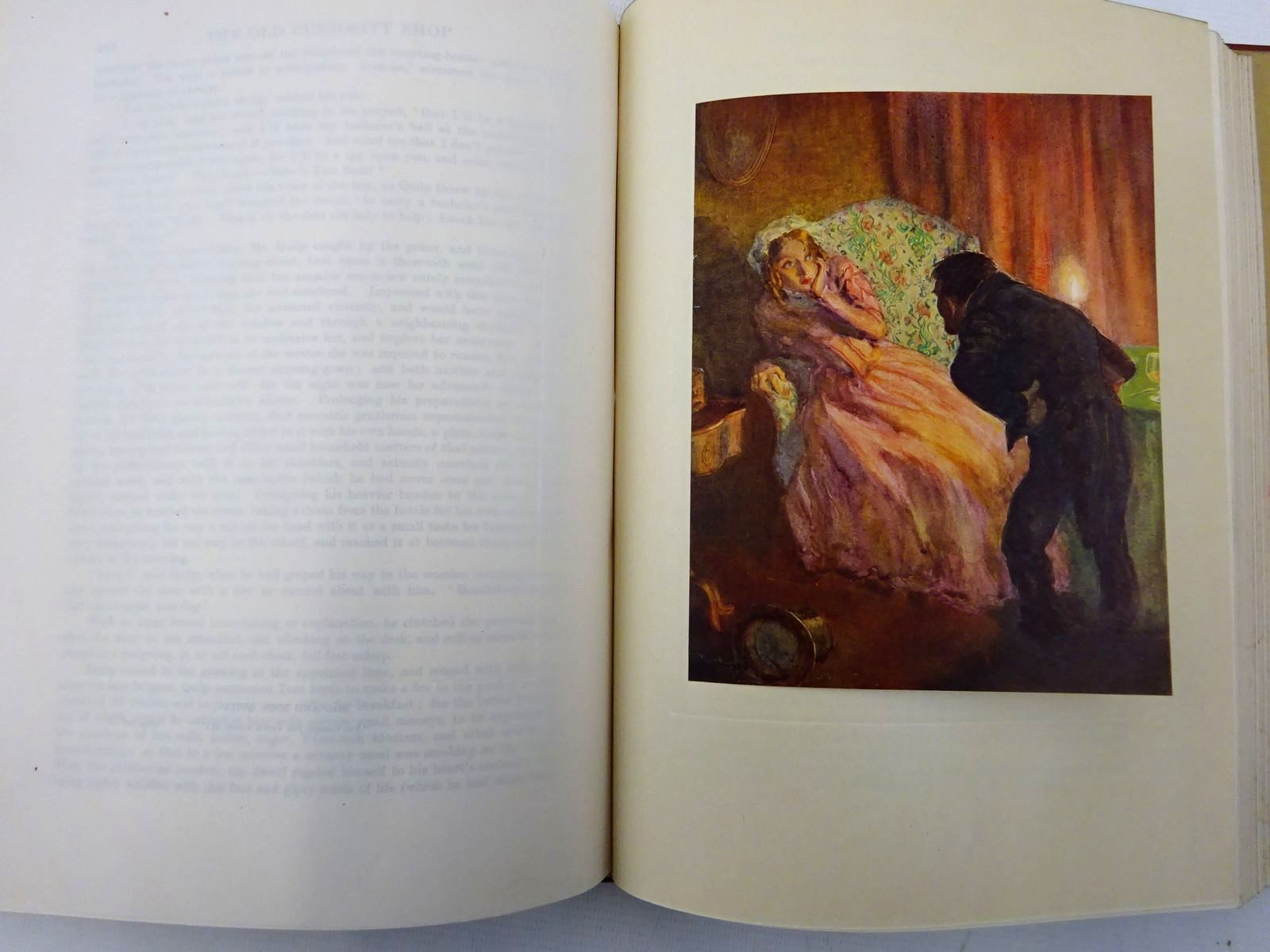 Photo of THE OLD CURIOSITY SHOP written by Dickens, Charles illustrated by Reynolds, Frank published by Hodder & Stoughton (STOCK CODE: 2128587)  for sale by Stella & Rose's Books