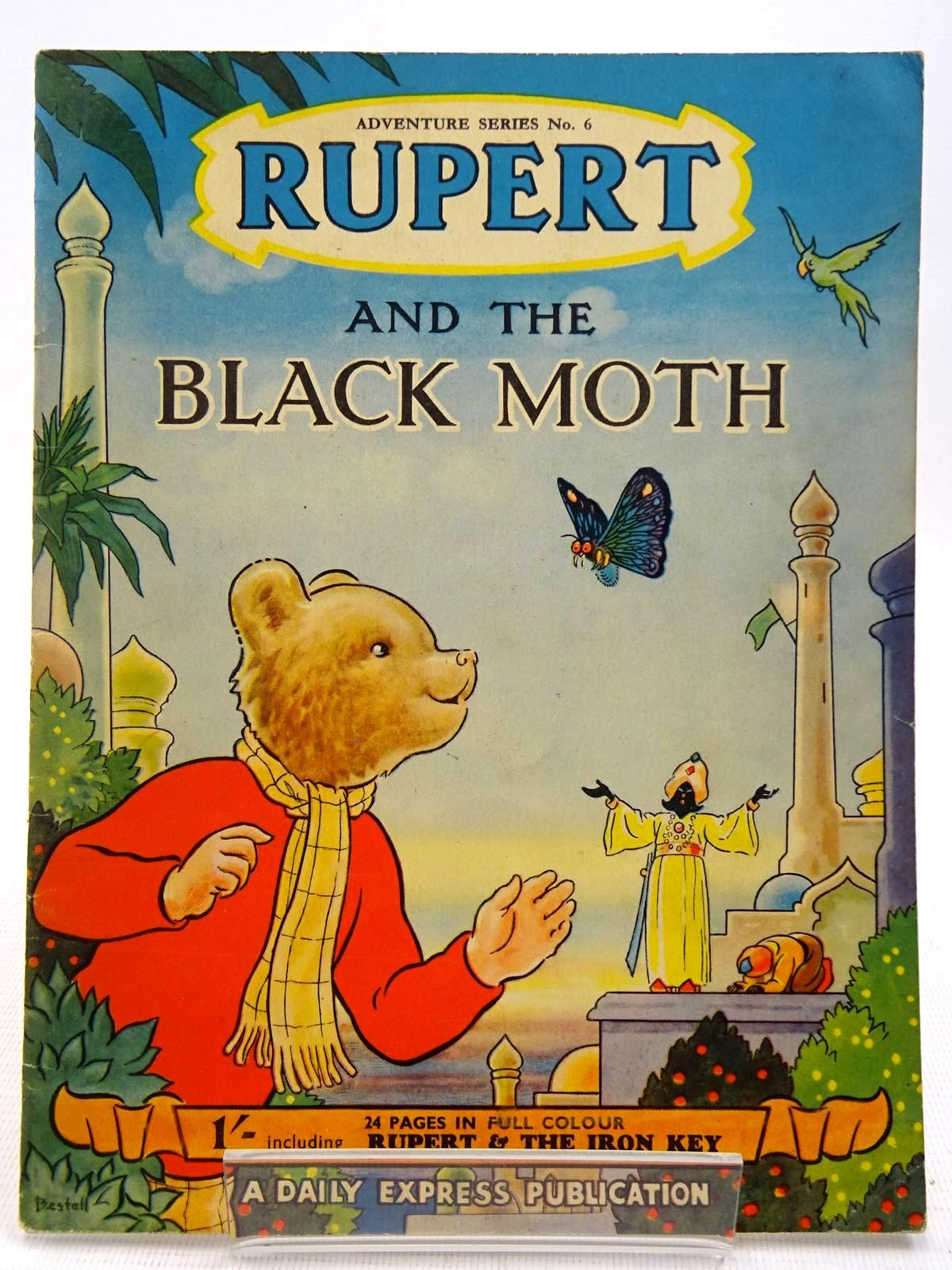 Photo of RUPERT ADVENTURE SERIES No. 6 - RUPERT AND THE BLACK MOTH- Stock Number: 2128598