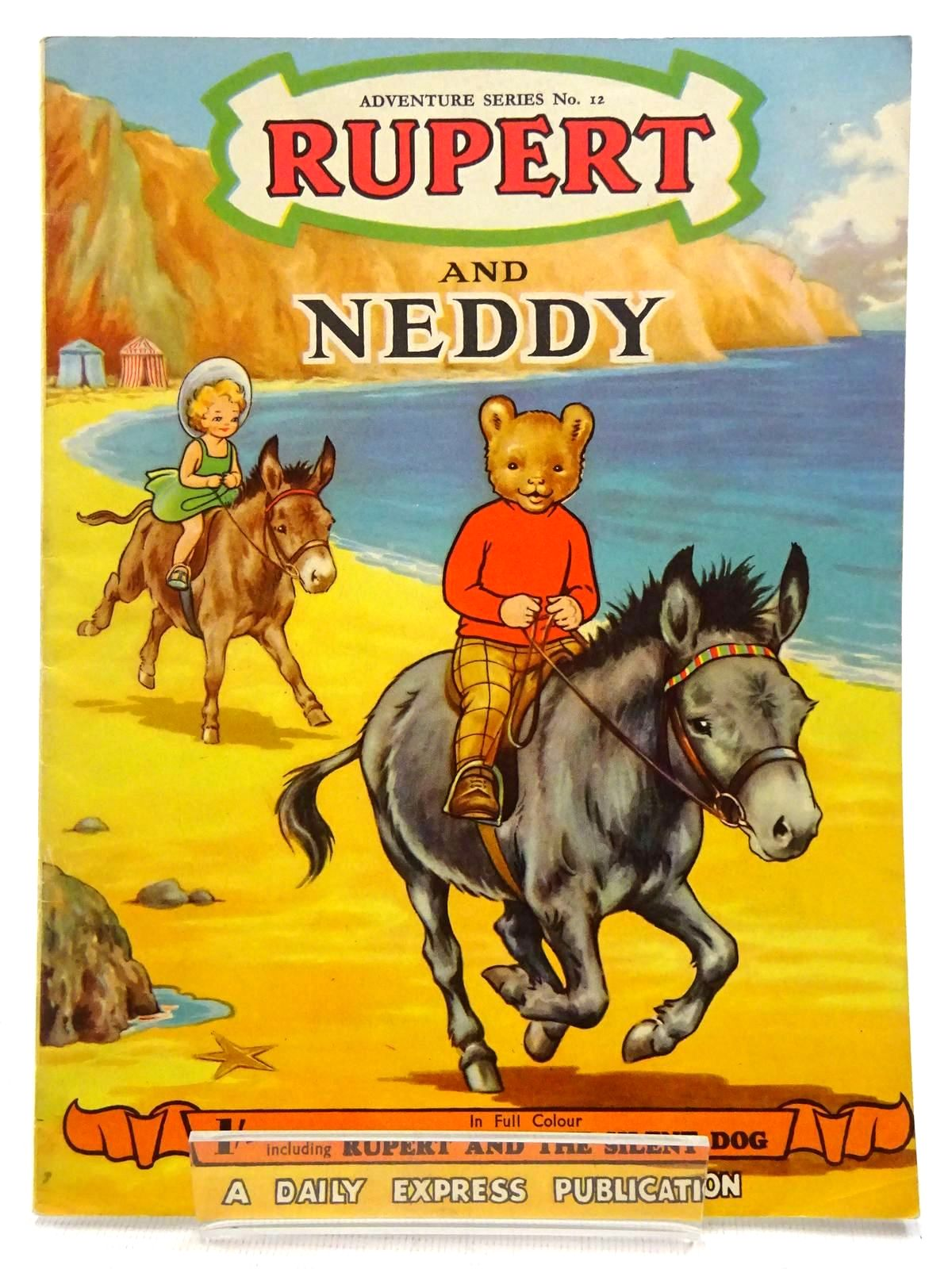 Photo of RUPERT ADVENTURE SERIES No. 12 - RUPERT AND NEDDY written by Bestall, Alfred illustrated by Ash, Enid Bestall, Alfred published by Daily Express (STOCK CODE: 2128599)  for sale by Stella & Rose's Books