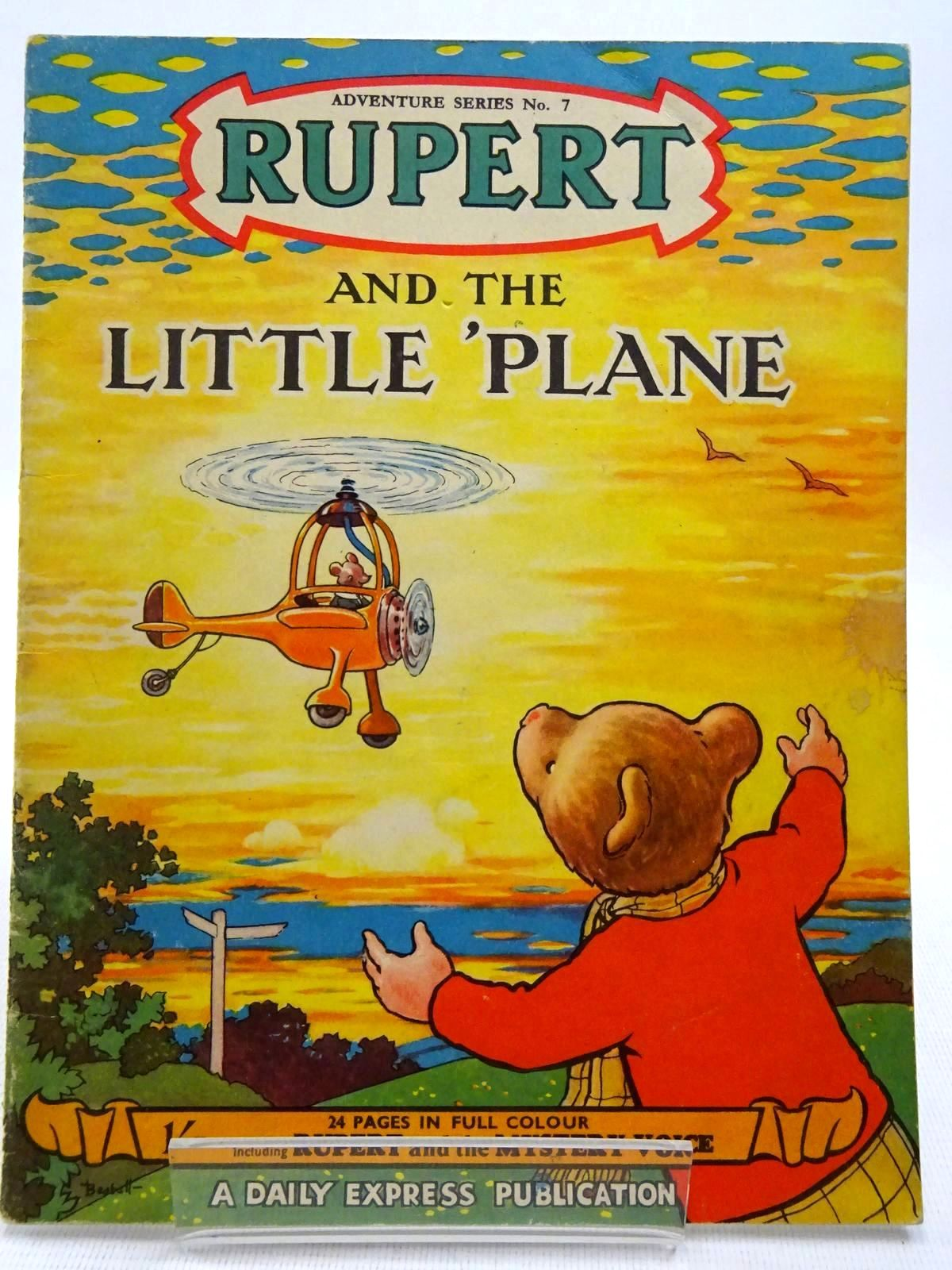 Photo of RUPERT ADVENTURE SERIES No. 7 - RUPERT AND THE LITTLE PLANE- Stock Number: 2128600