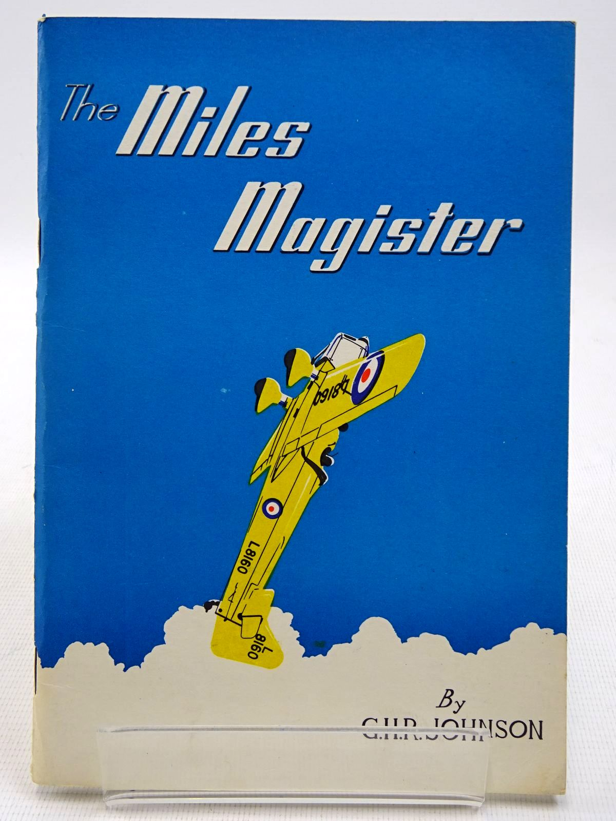 Photo of THE MILES MAGISTER written by Johnson, G.H.R. published by Newark (nottinghamshire & Lincolnshire) Air Museum Limited (STOCK CODE: 2128627)  for sale by Stella & Rose's Books
