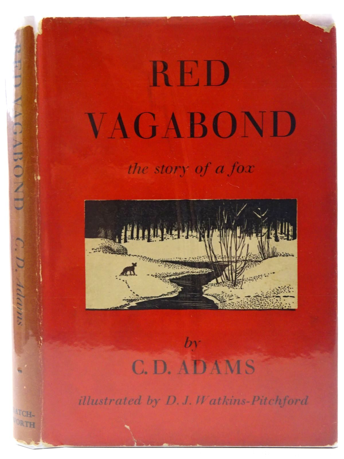 Photo of RED VAGABOND written by Adams, G.D. illustrated by BB,  published by The Batchworth Press (STOCK CODE: 2128634)  for sale by Stella & Rose's Books