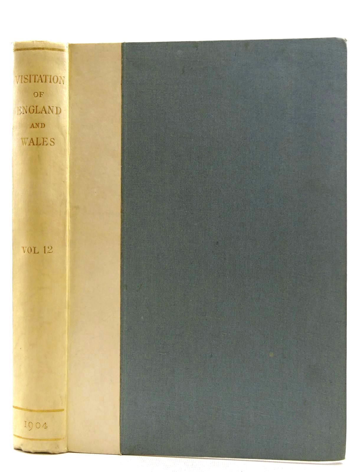 Photo of VISITATION OF ENGLAND AND WALES VOLUME 12 written by Crisp, Frederick Arthur (STOCK CODE: 2128663)  for sale by Stella & Rose's Books