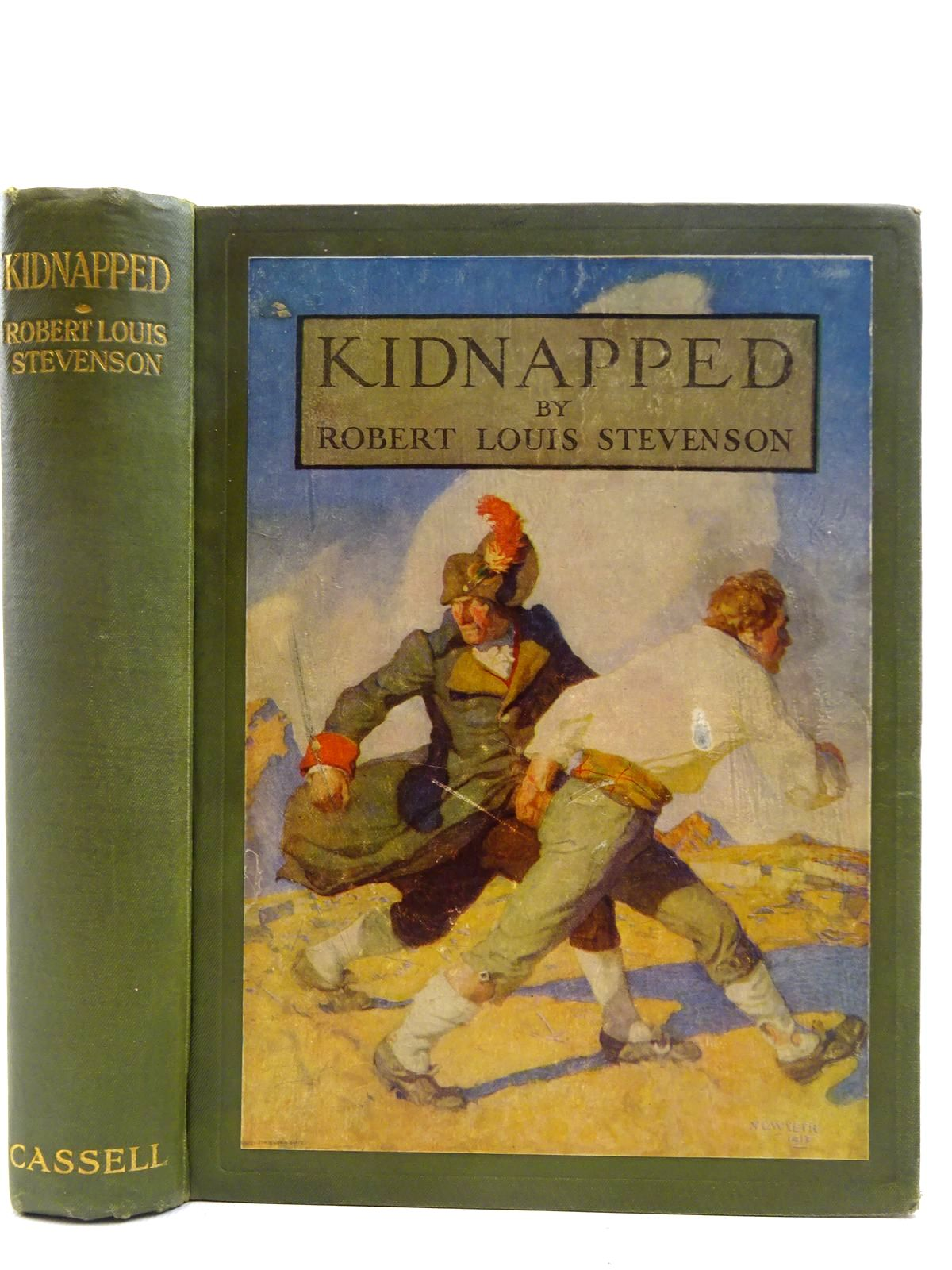 Photo of KIDNAPPED written by Stevenson, Robert Louis illustrated by Wyeth, N.C. published by Cassell & Co. Ltd. (STOCK CODE: 2128675)  for sale by Stella & Rose's Books