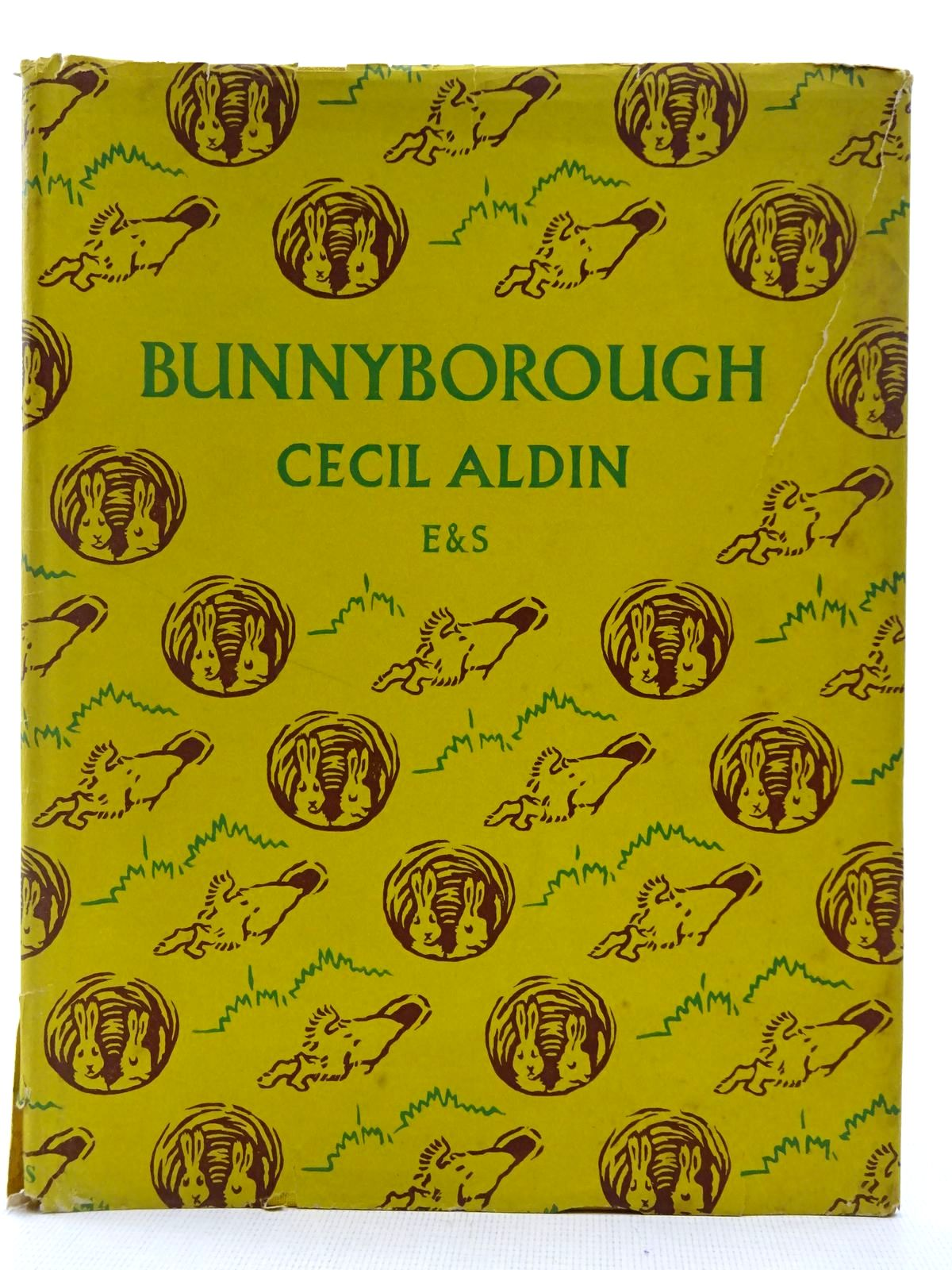 Photo of BUNNYBOROUGH written by Aldin, Cecil illustrated by Aldin, Cecil published by Eyre & Spottiswoode (STOCK CODE: 2128679)  for sale by Stella & Rose's Books