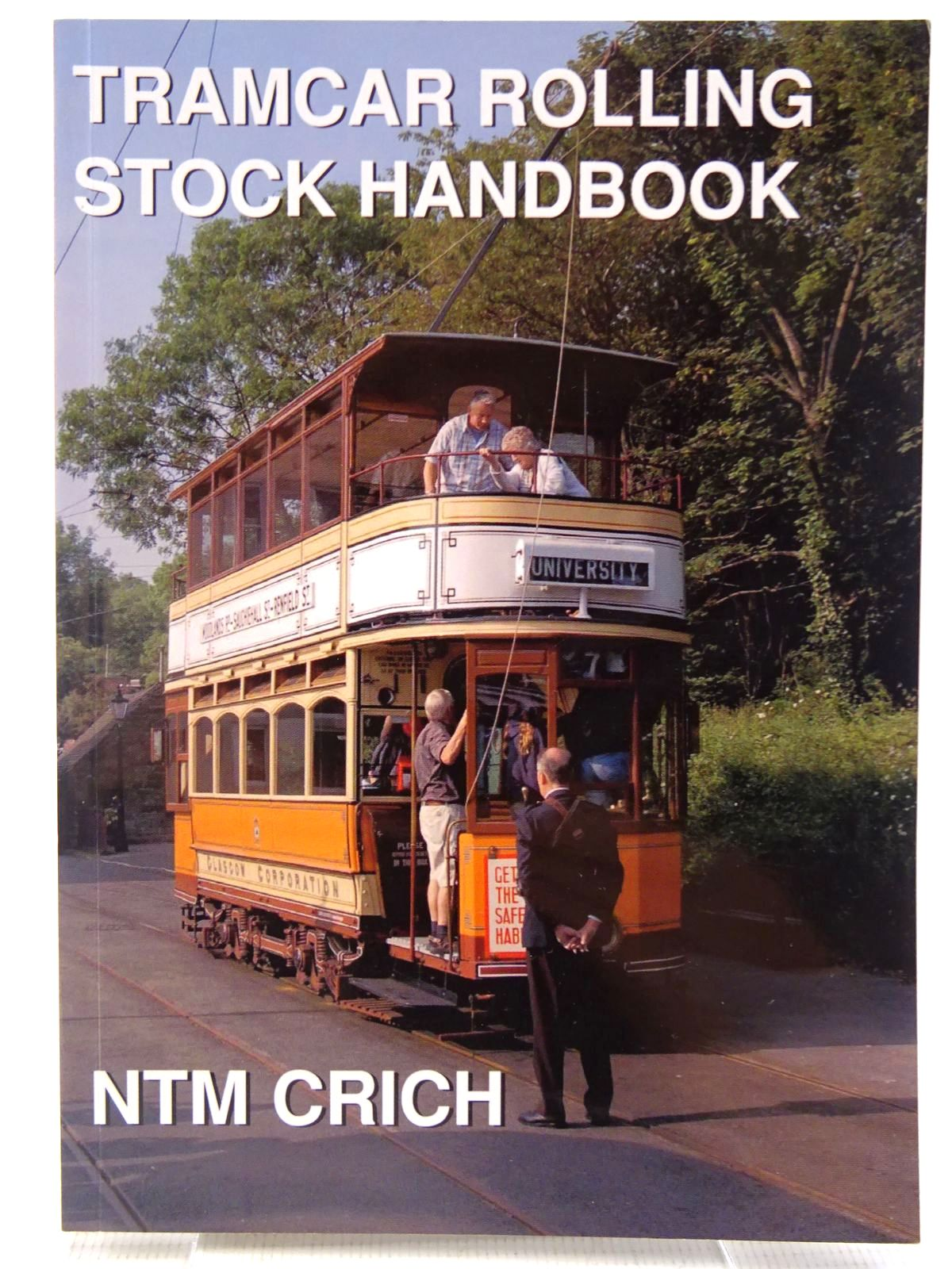 Photo of TRAMCAR ROLLING STOCK BOOK written by Senior, John
