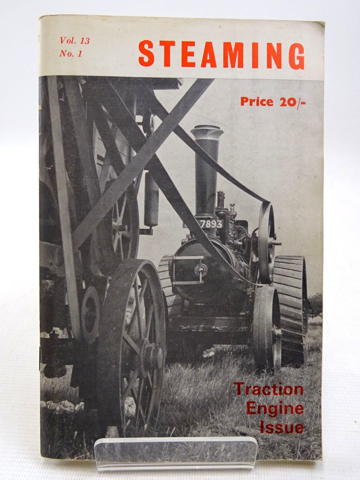 Photo of STEAMING VOL. 13 No. 1 TRACTION ENGINE ISSUE written by Crawley, John Paisley, T.B. published by The National Traction Engine Club Ltd. (STOCK CODE: 2128716)  for sale by Stella & Rose's Books