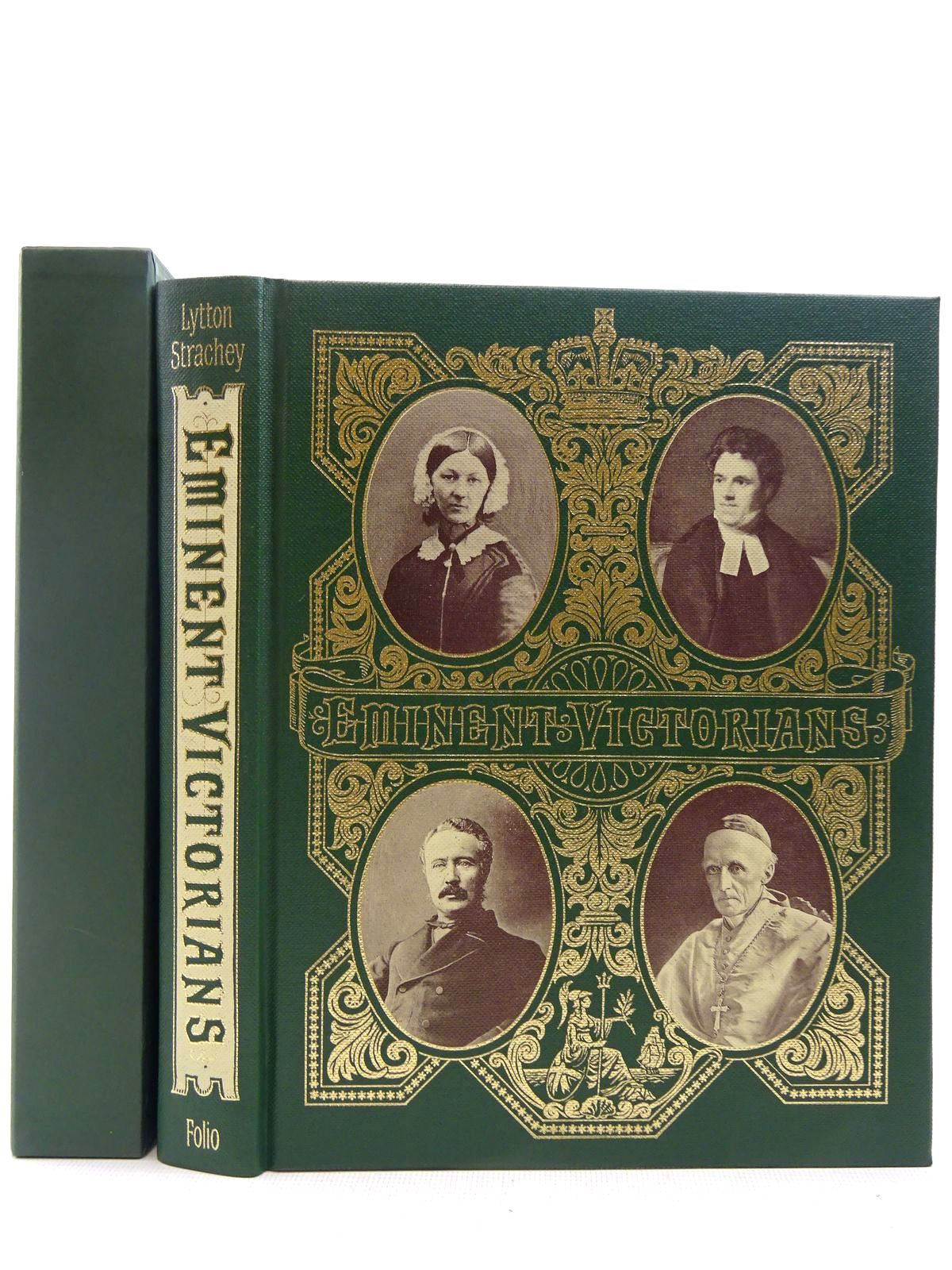 Photo of EMINENT VICTORIANS written by Strachey, Lytton published by Folio Society (STOCK CODE: 2128738)  for sale by Stella & Rose's Books