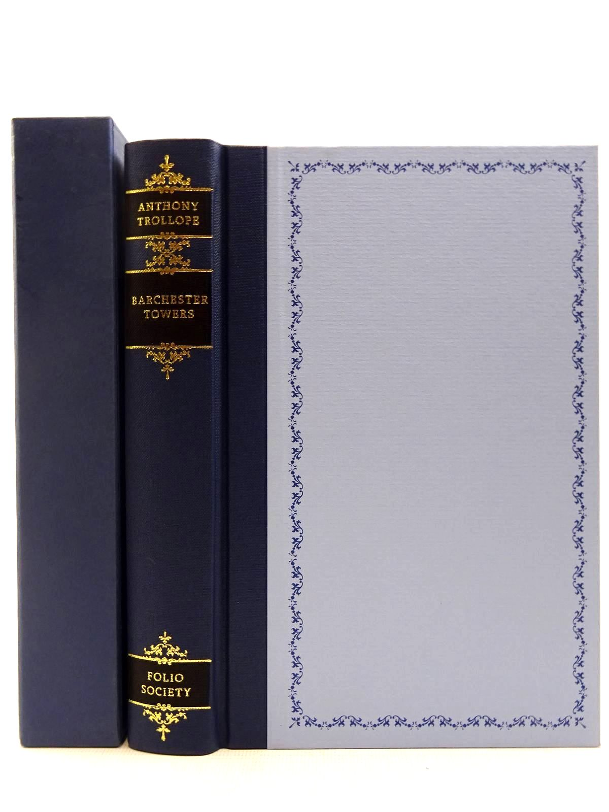 Photo of BARCHESTER TOWERS written by Trollope, Anthony Rendell, Ruth illustrated by Pendle, Alexy published by Folio Society (STOCK CODE: 2128750)  for sale by Stella & Rose's Books