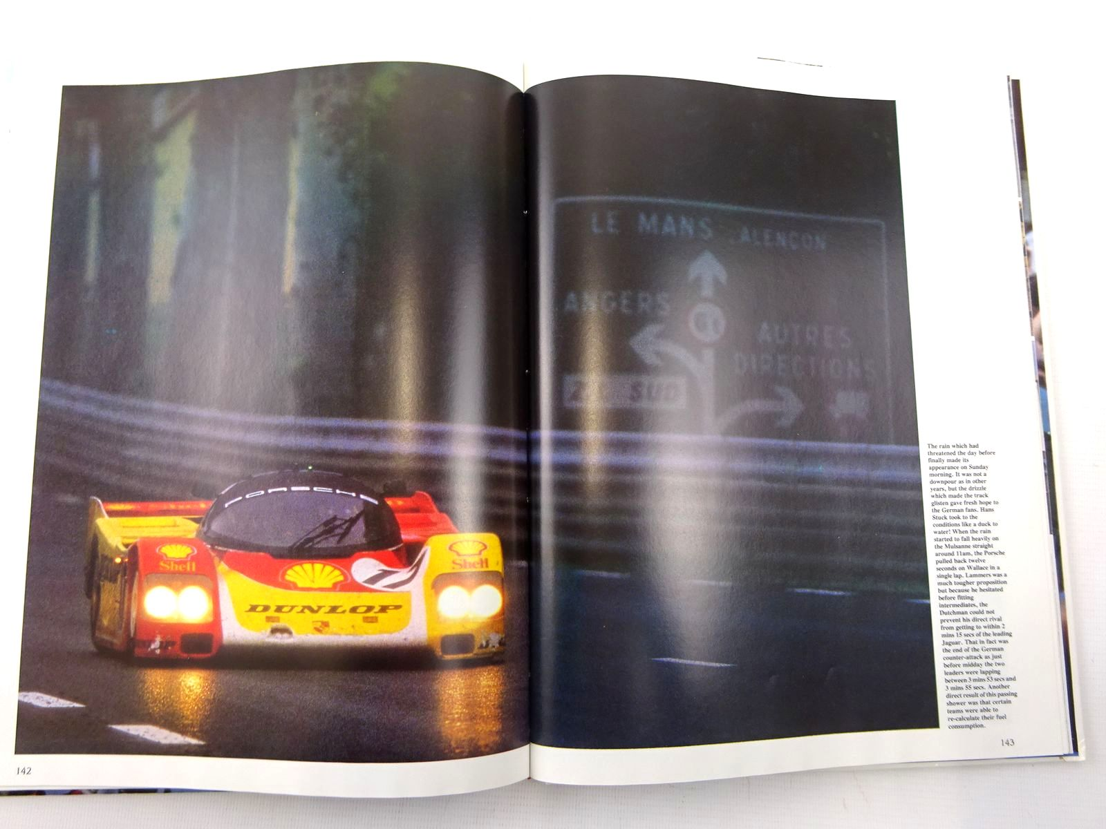 Photo of 1988 LE MANS 24 HOURS written by Moity, Christian