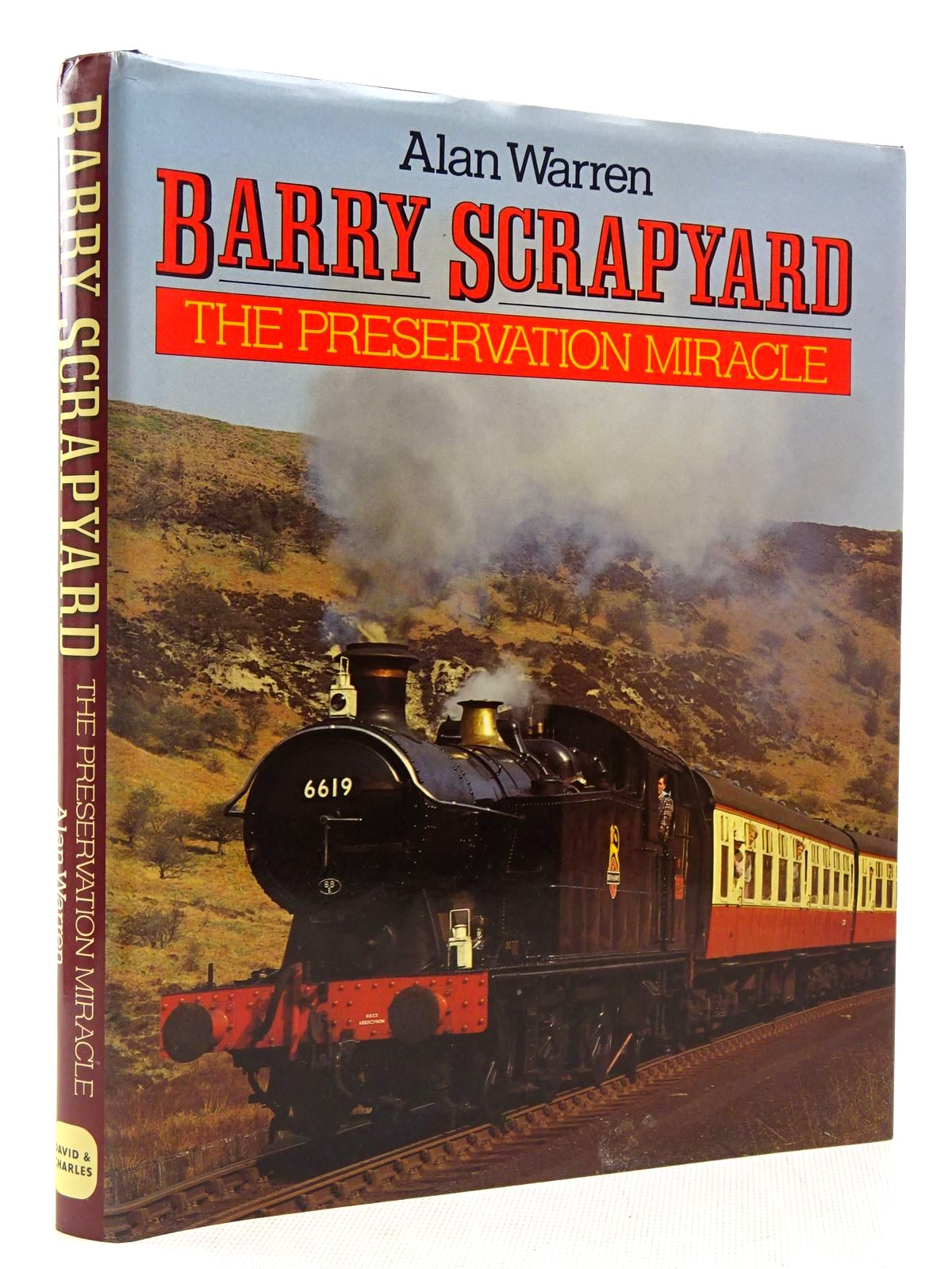 Photo of BARRY SCRAPYARD THE PRESERVATION MIRACLE written by Warren, Alan published by David & Charles (STOCK CODE: 2128792)  for sale by Stella & Rose's Books