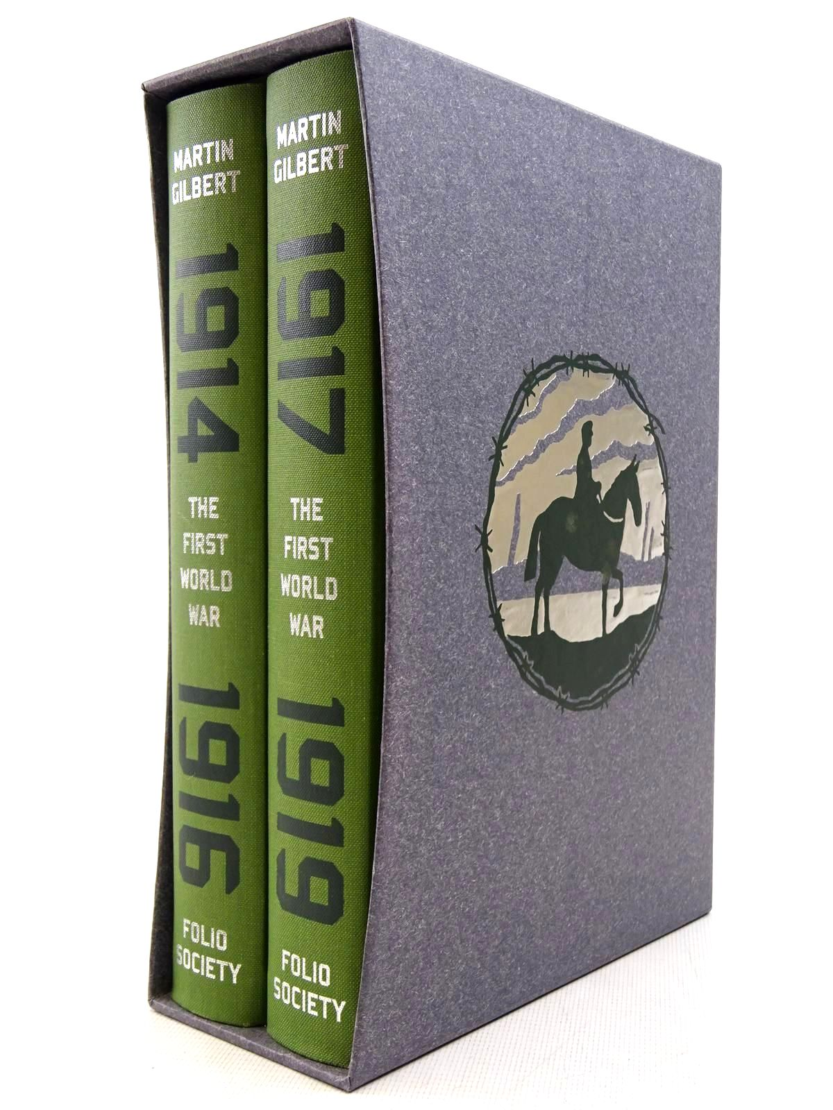 Photo of THE FIRST WORLD WAR (2 VOLUMES) written by Gilbert, Martin published by Folio Society (STOCK CODE: 2128815)  for sale by Stella & Rose's Books