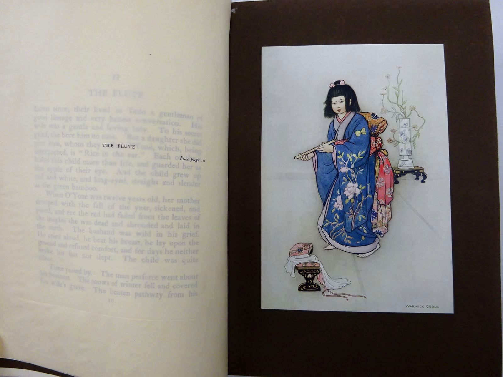 Photo of GREEN WILLOW AND OTHER JAPANESE FAIRY TALES written by James, Grace illustrated by Goble, Warwick published by Macmillan & Co. Ltd. (STOCK CODE: 2128894)  for sale by Stella & Rose's Books