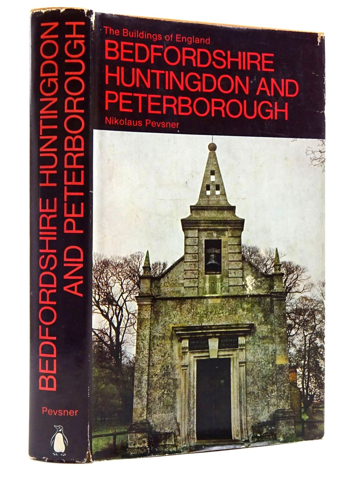 Photo of BEDFORDSHIRE AND THE COUNTY OF HUNTINGDON AND PETERBOROUGH (BUILDINGS OF ENGLAND) written by Pevsner, Nikolaus (STOCK CODE: 2128904)  for sale by Stella & Rose's Books